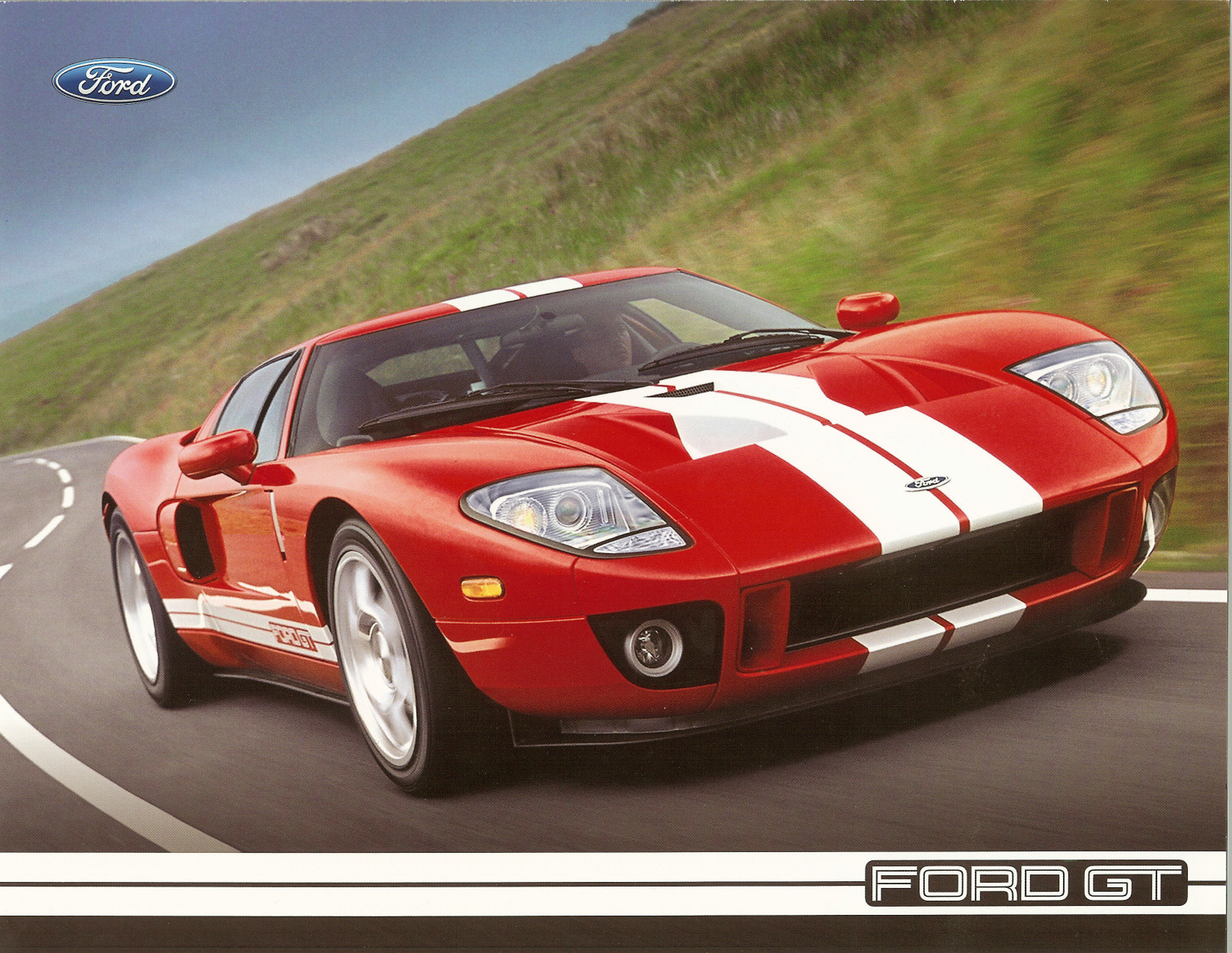2005 Ford GT Technical Specifications Cover