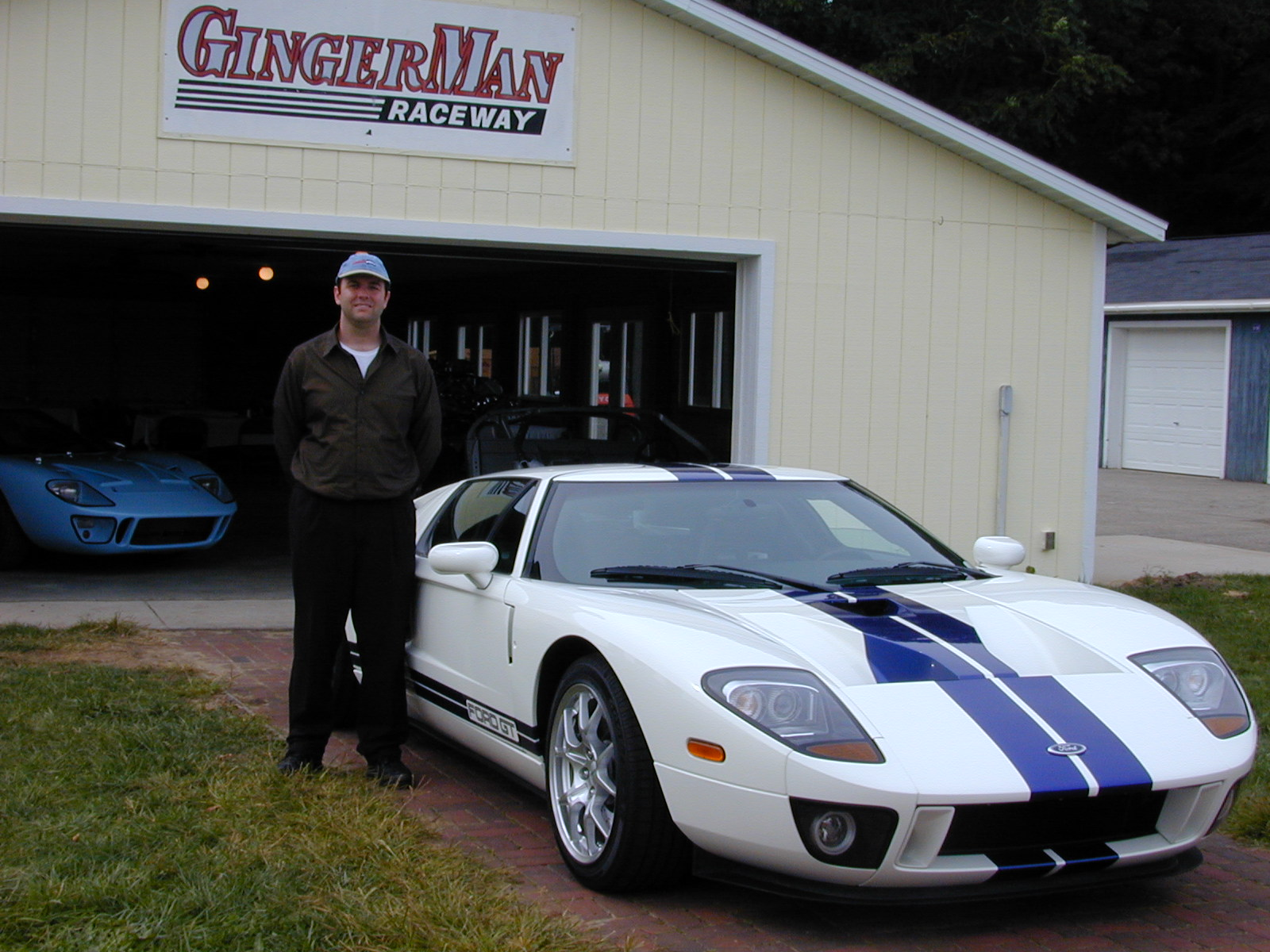 Ford GT First Drive Gingerman Raceway