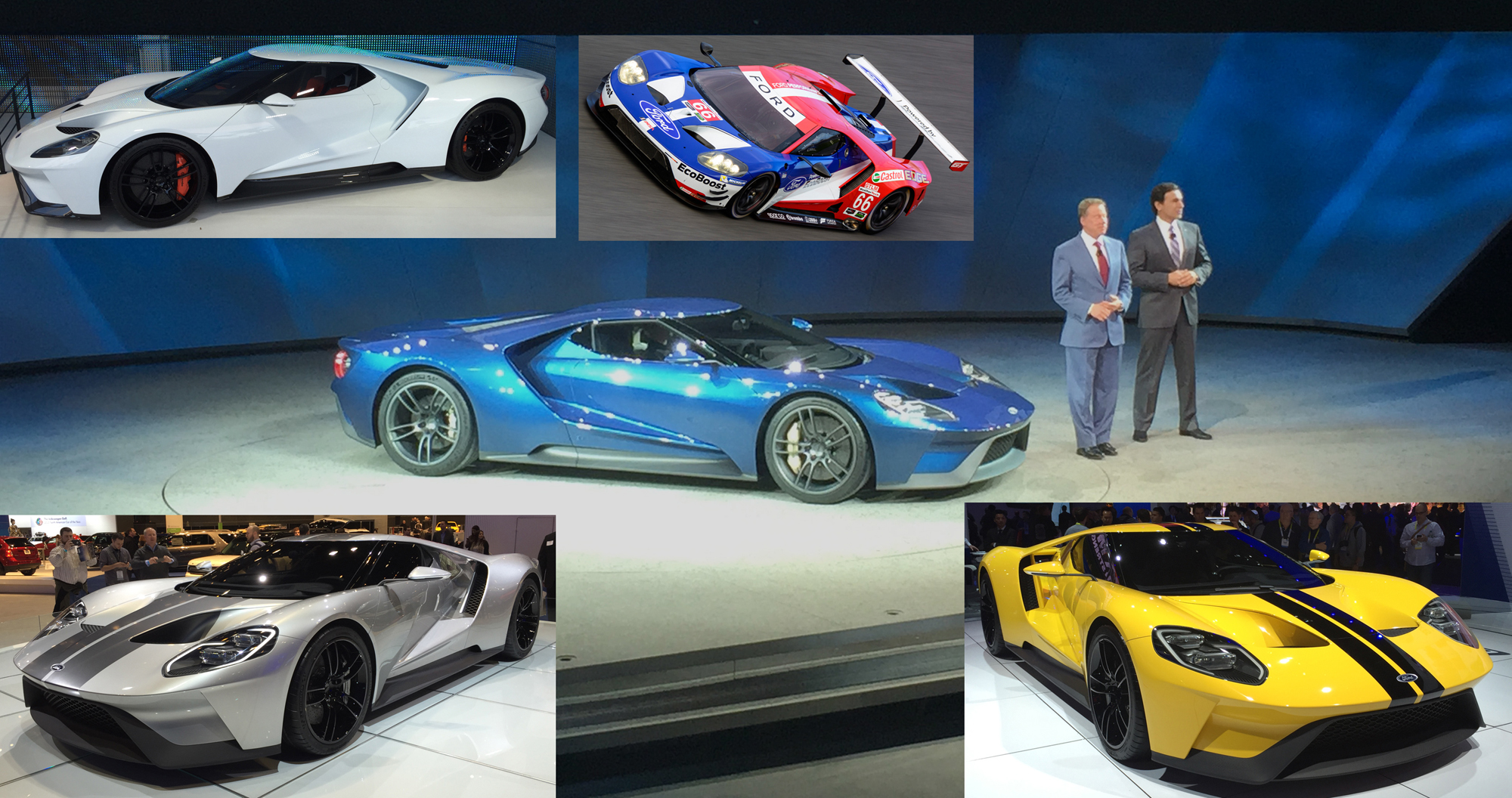 Ford GT Show Cars