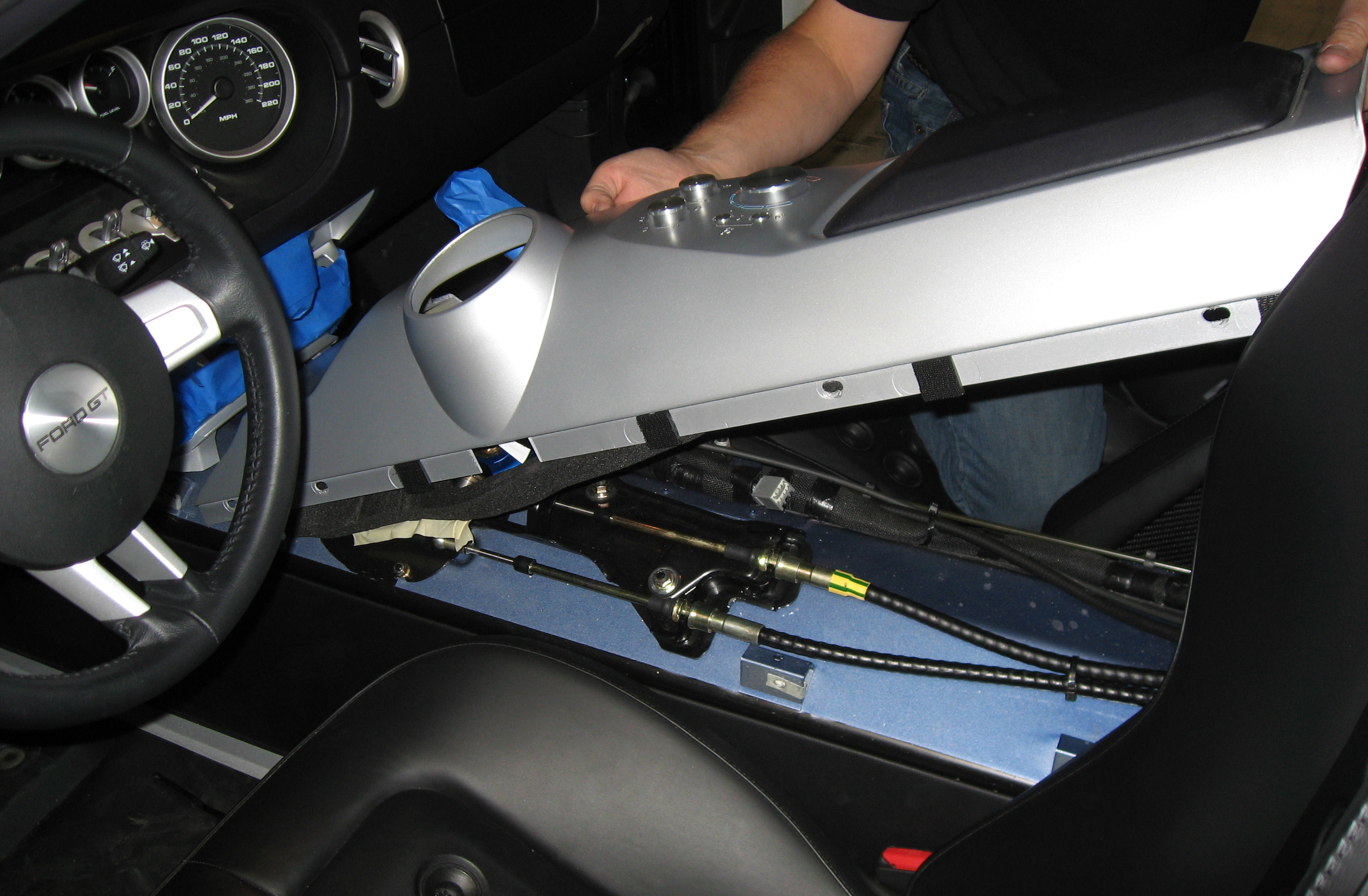 2005 Ford GT Long Term Center Console Removal
