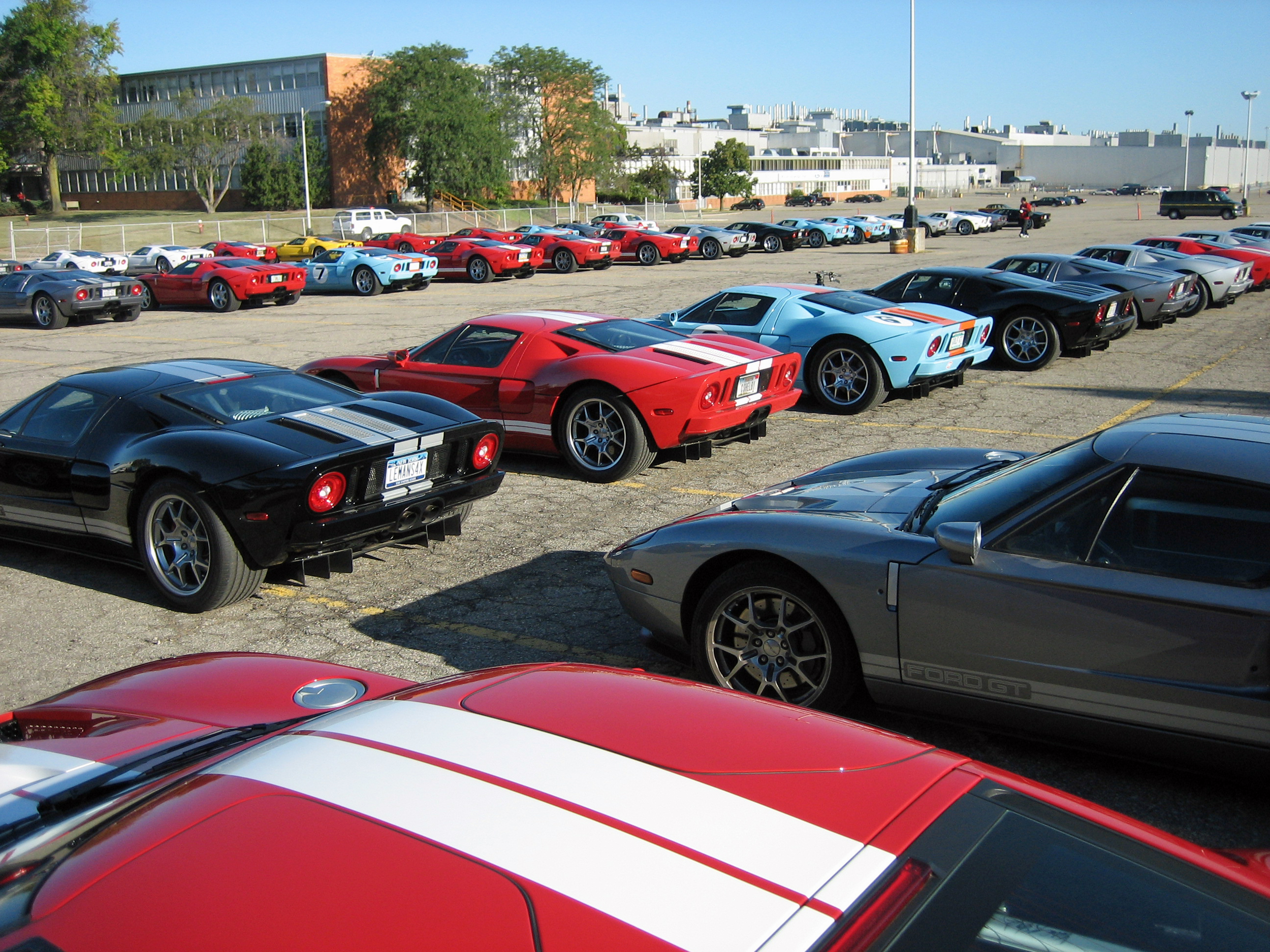 2005 Ford GT Long Term Owners Rally 2