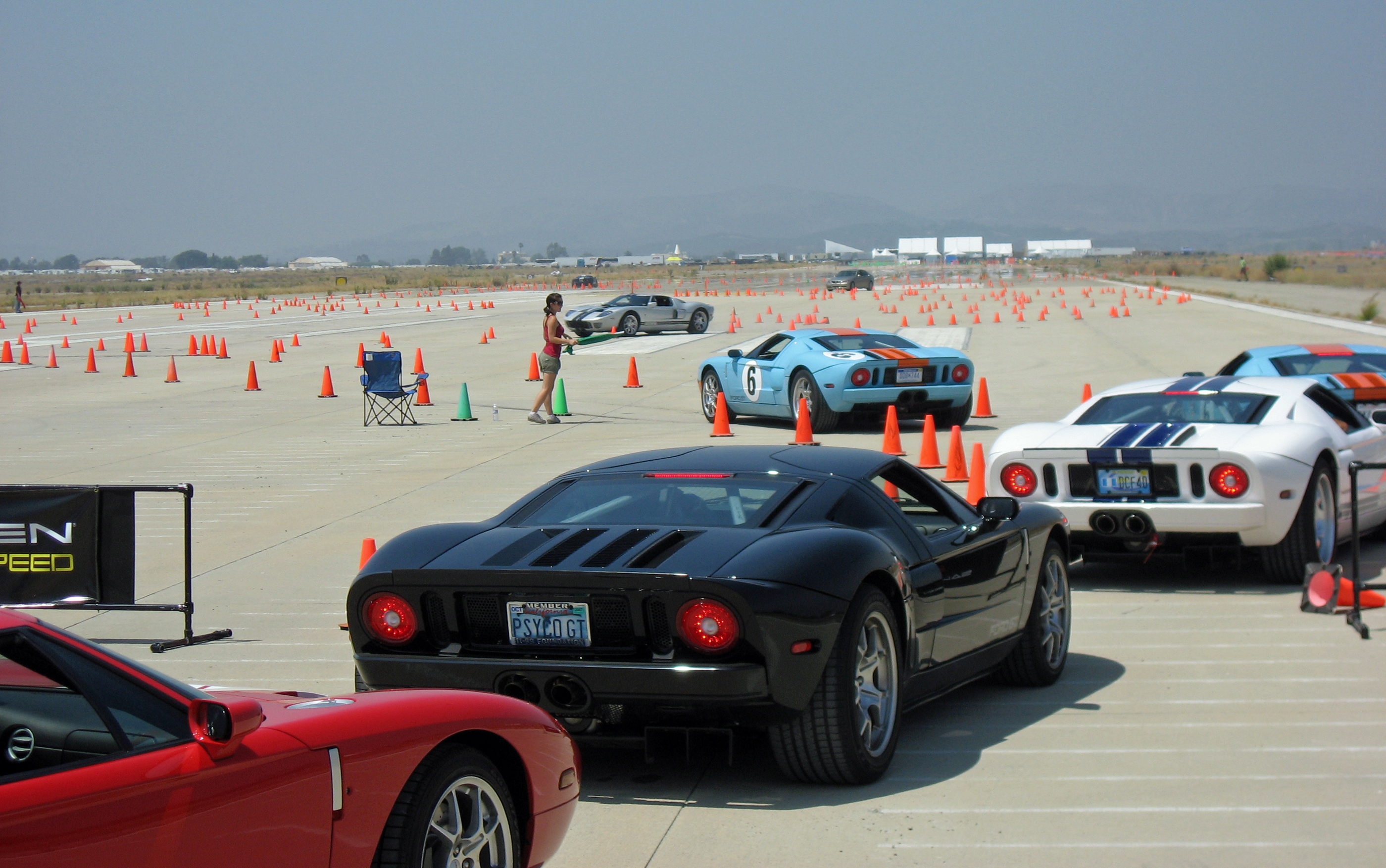 2005 Ford GT Long Term Owners Rally El Toro Road Course
