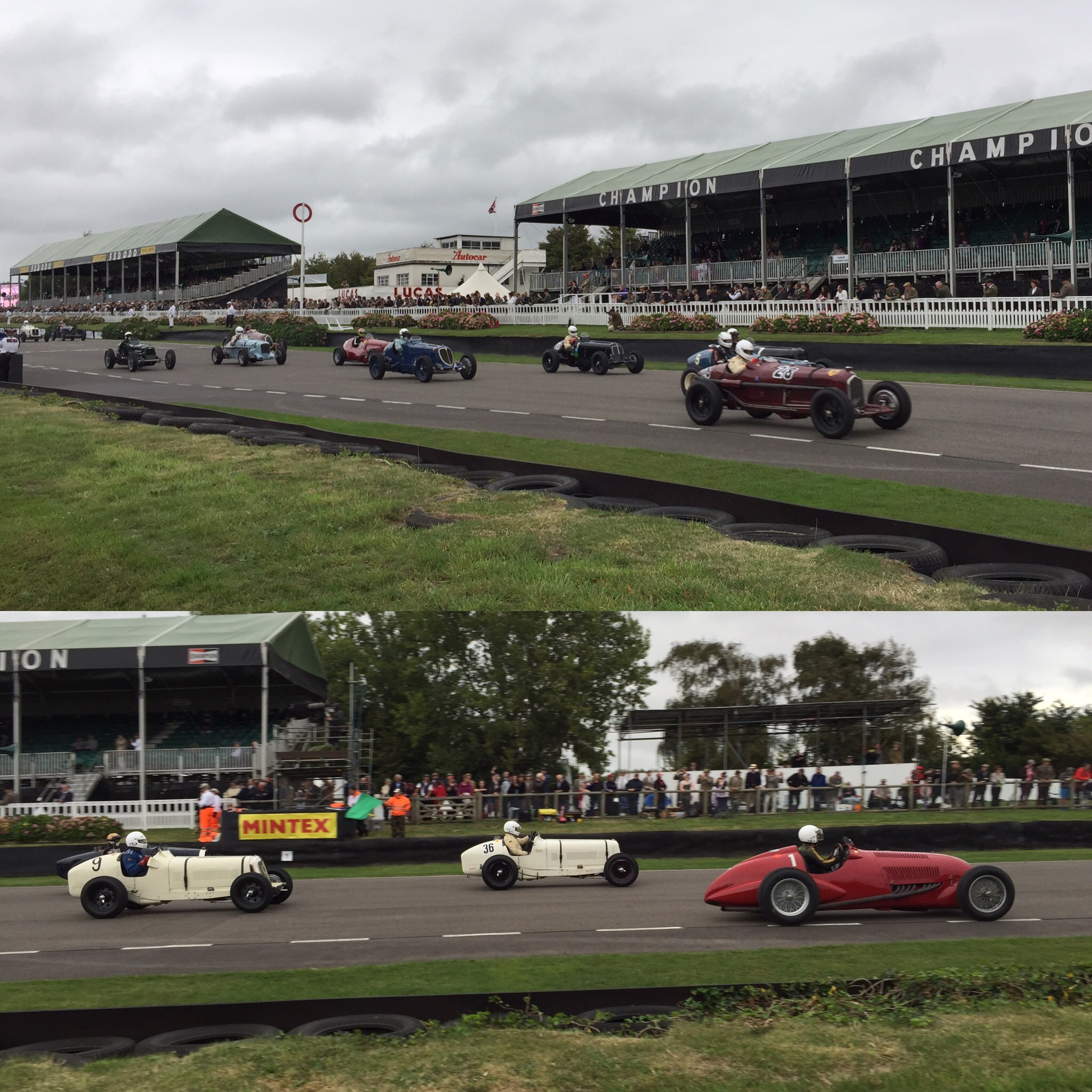 2016 Goodwood Revival Vintage Race Cars