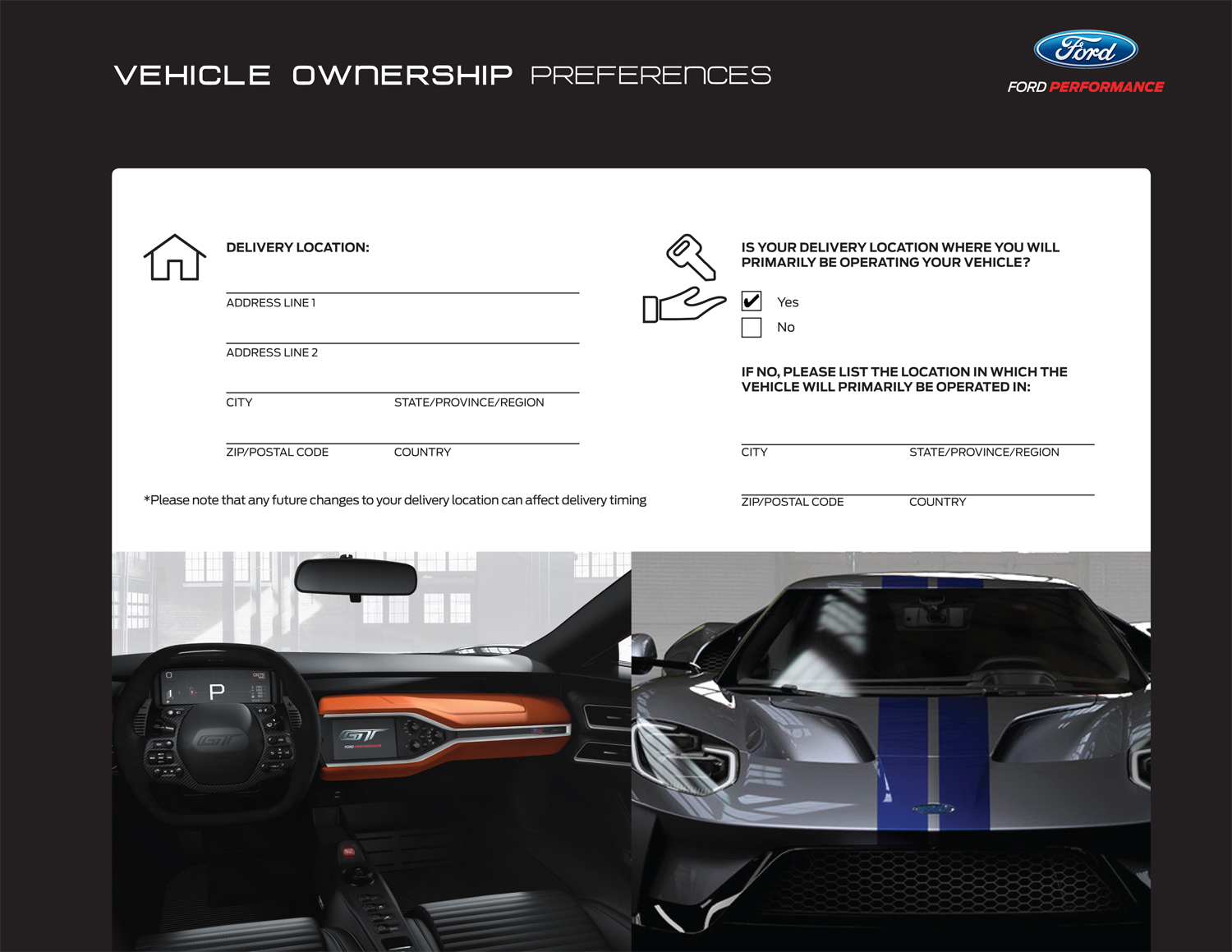 Preferences Ford GT Page 2
