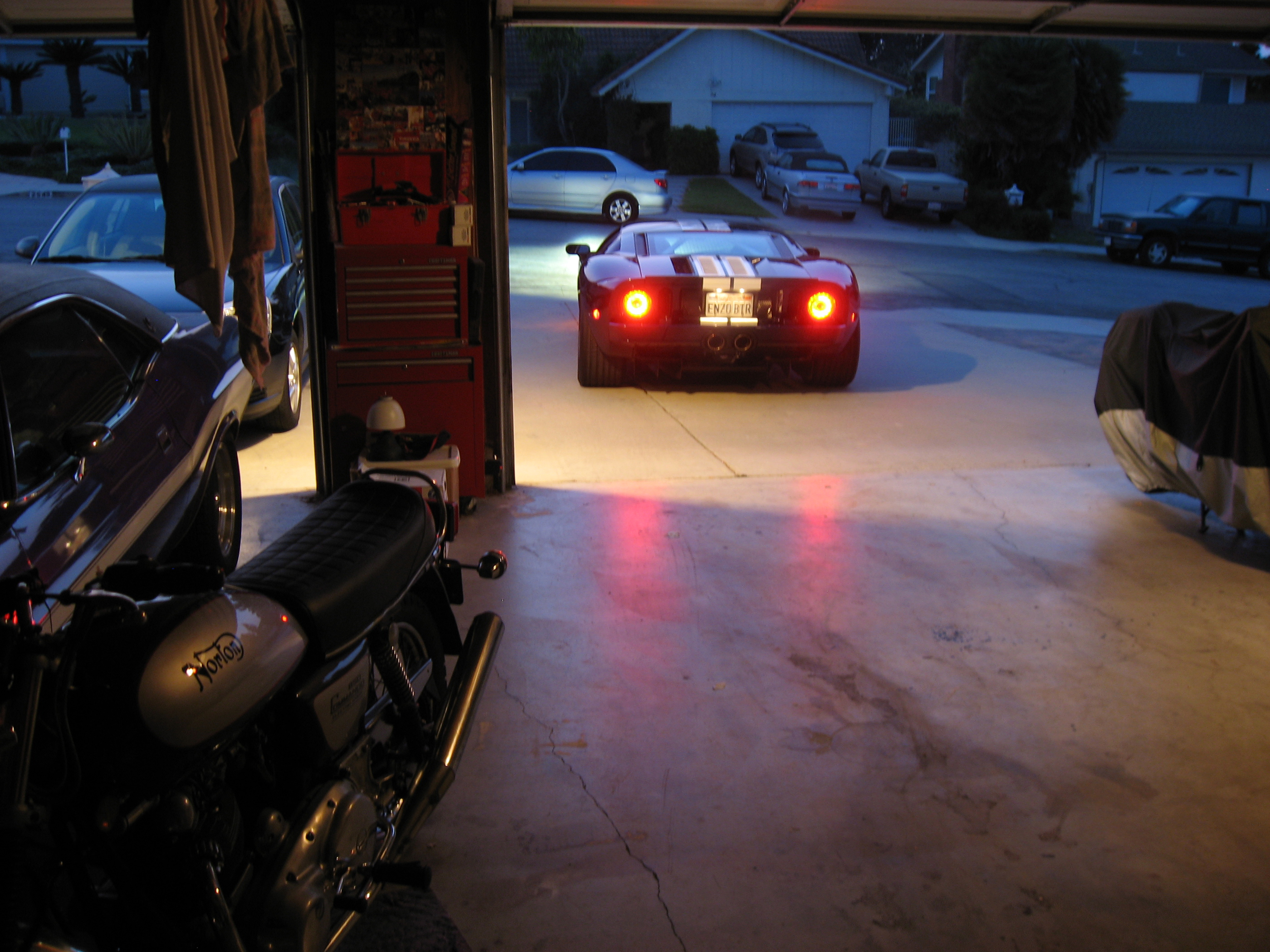 2005 Ford GT Long Term Reunion Departure