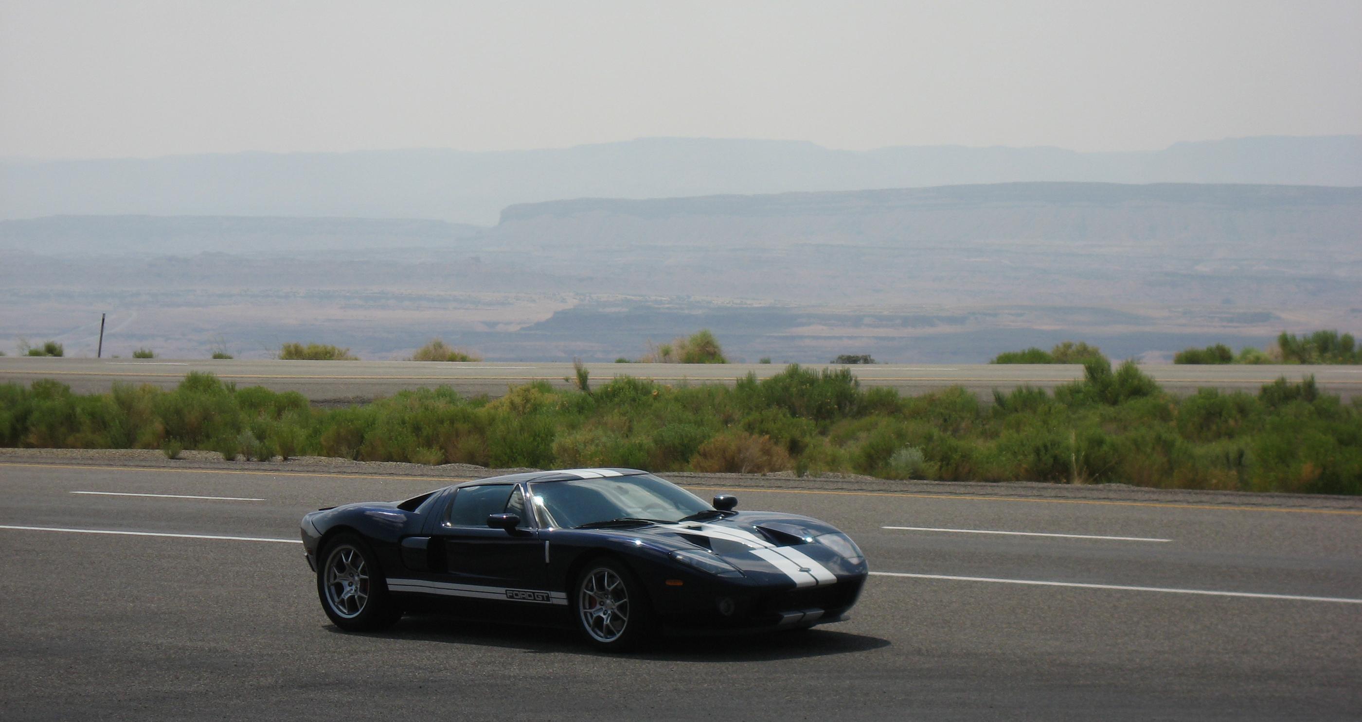 2005 Ford GT Long Term Reunion Utah
