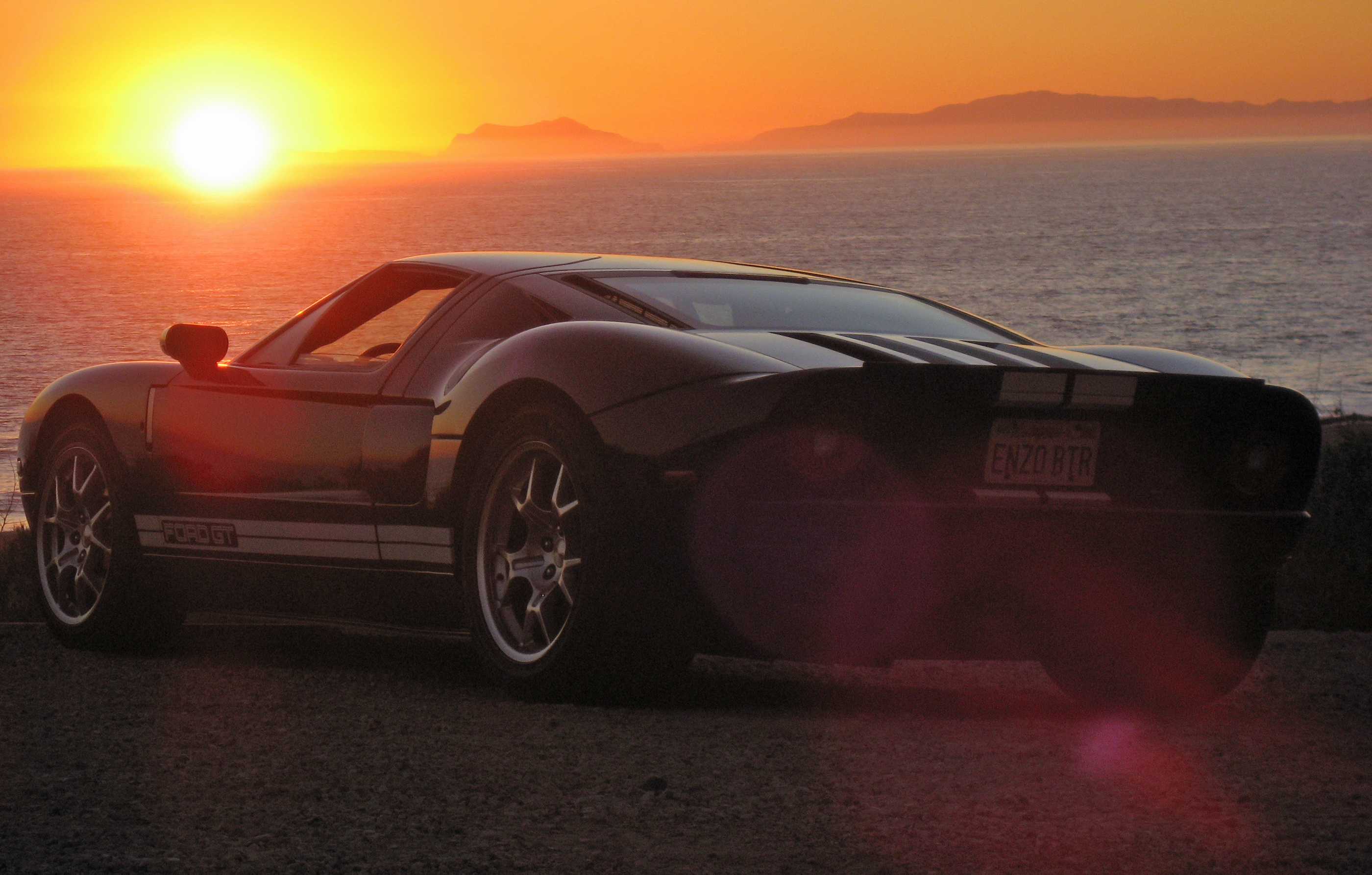 2005 Ford GT Long Term Sunset