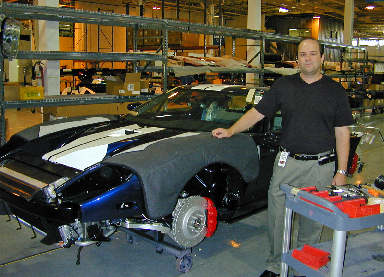 2005 Ford GT Long Term Wrap Up Factory