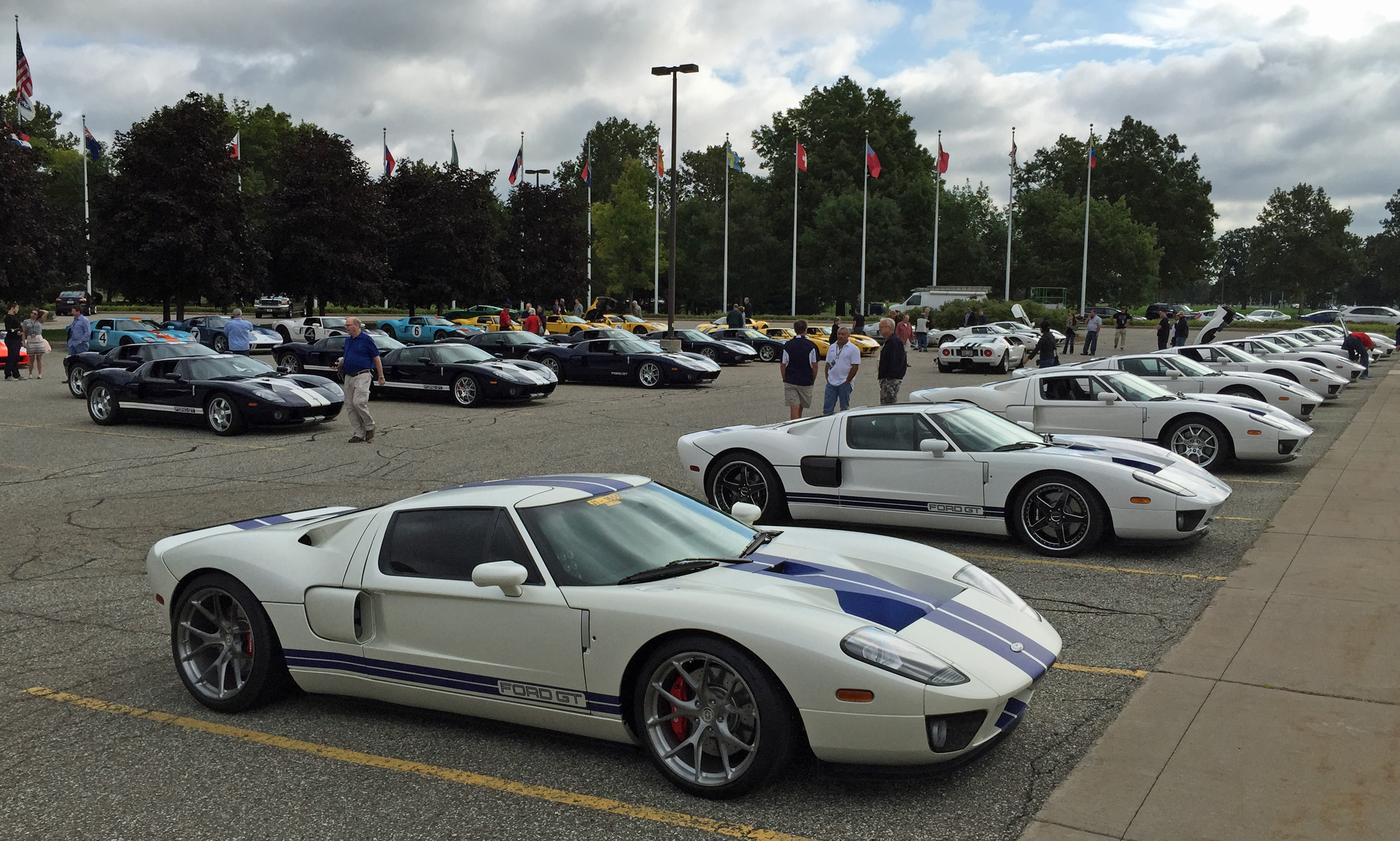 Ford GT Owners Rally 10 Centennial White