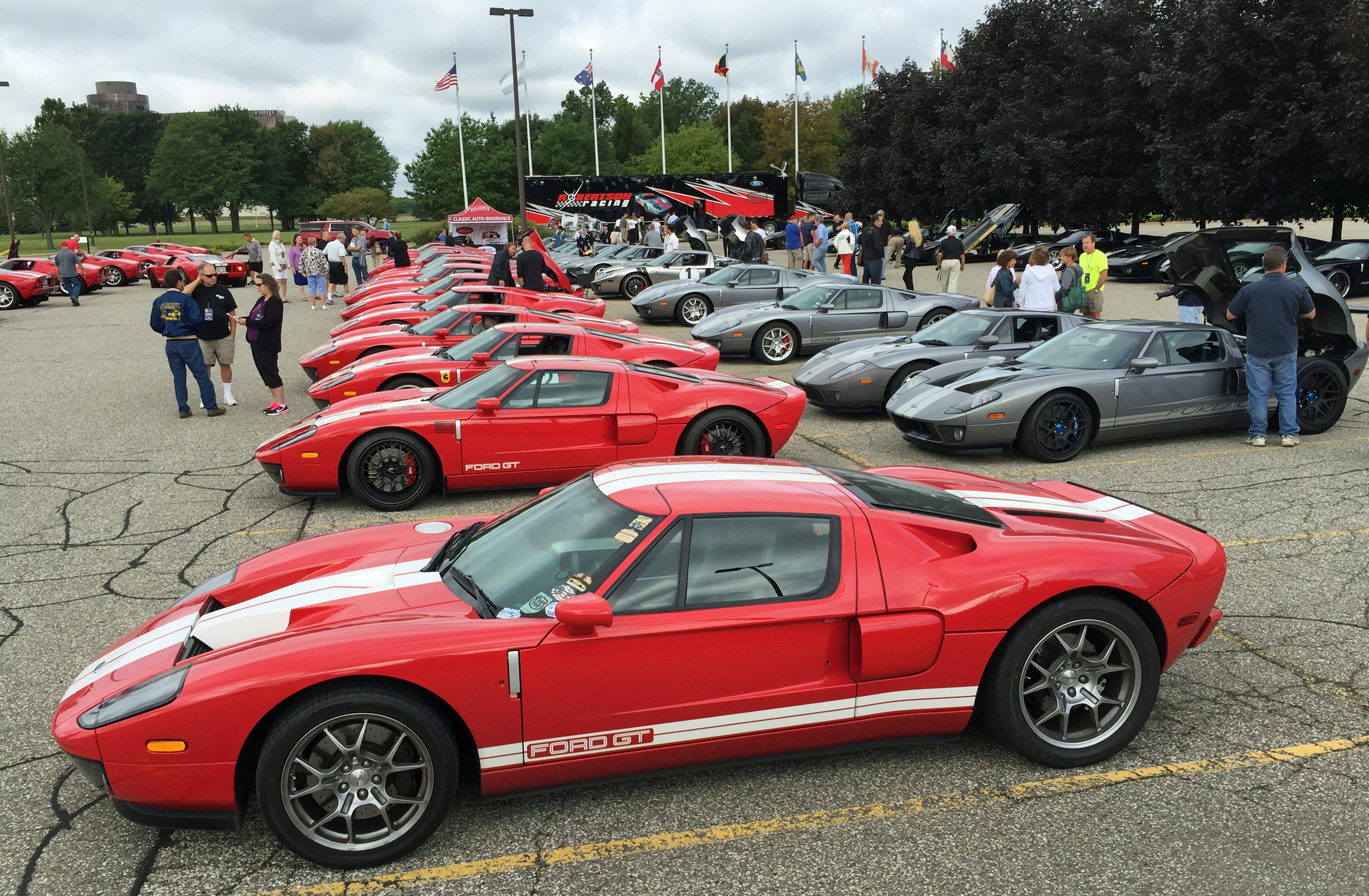 Ford GT Owners Rally 10 Red Tungsten