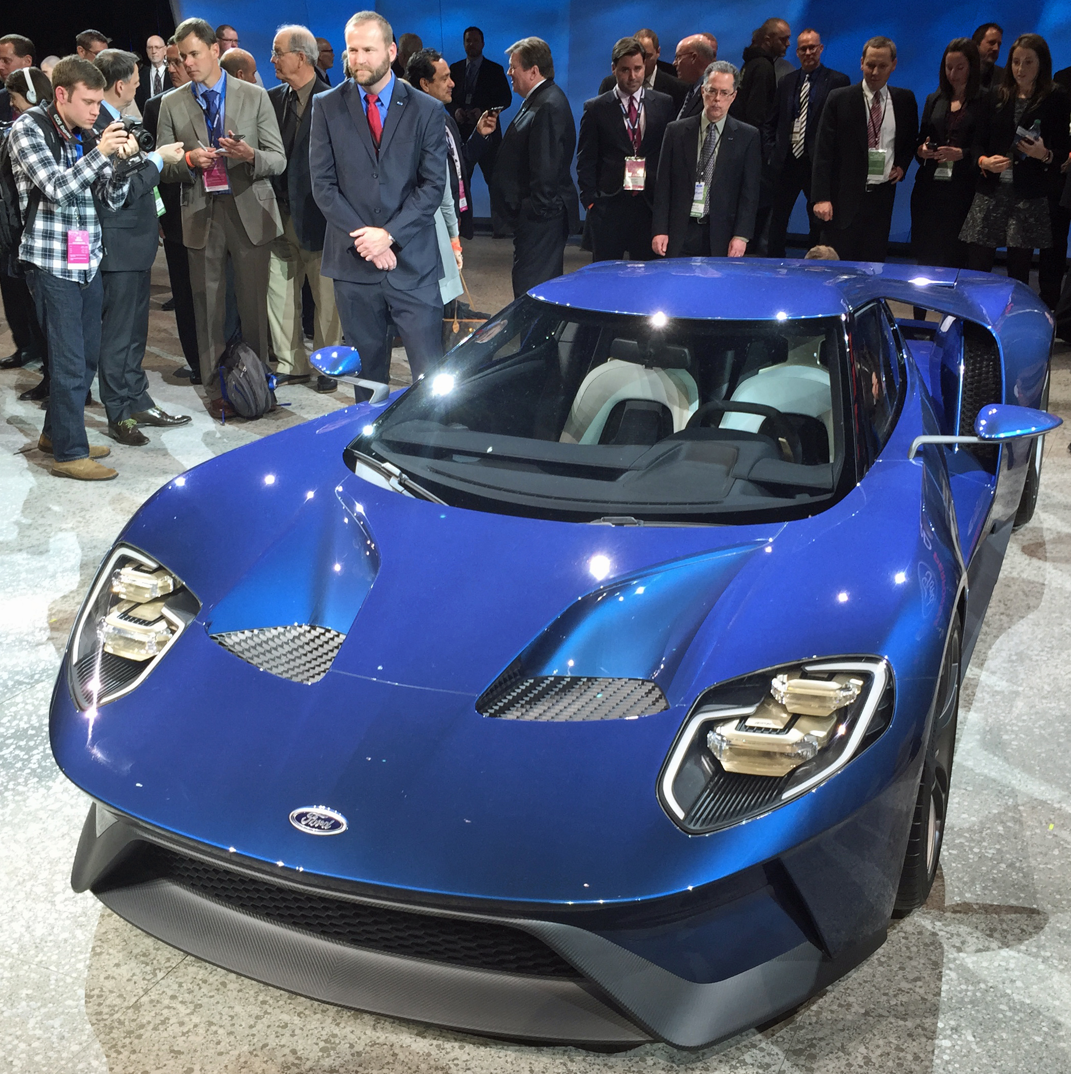 New Ford GT Front Press Conference