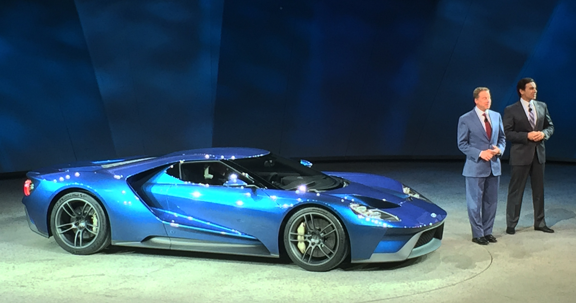 New Ford GT Press Conference