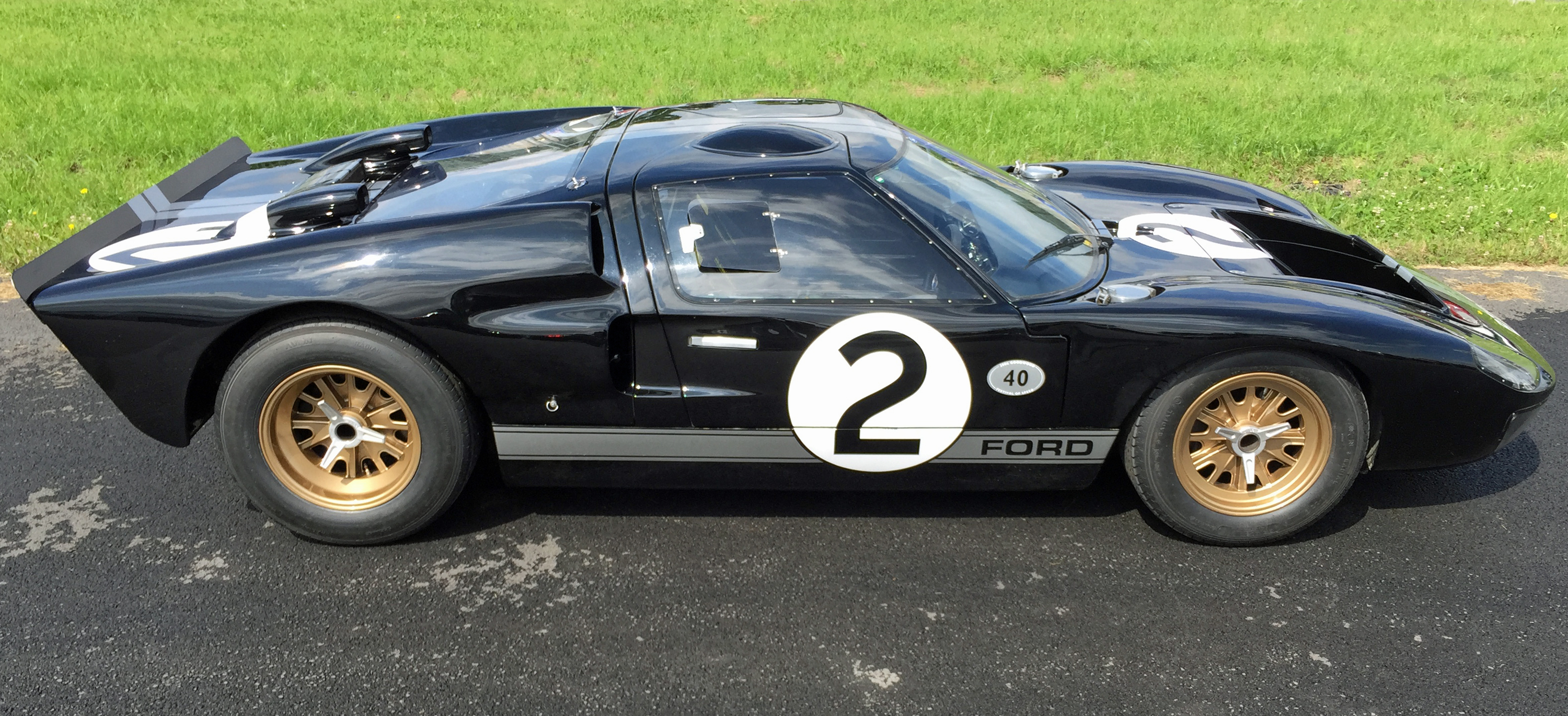 1966 Ford GT40 Le Mans Winner