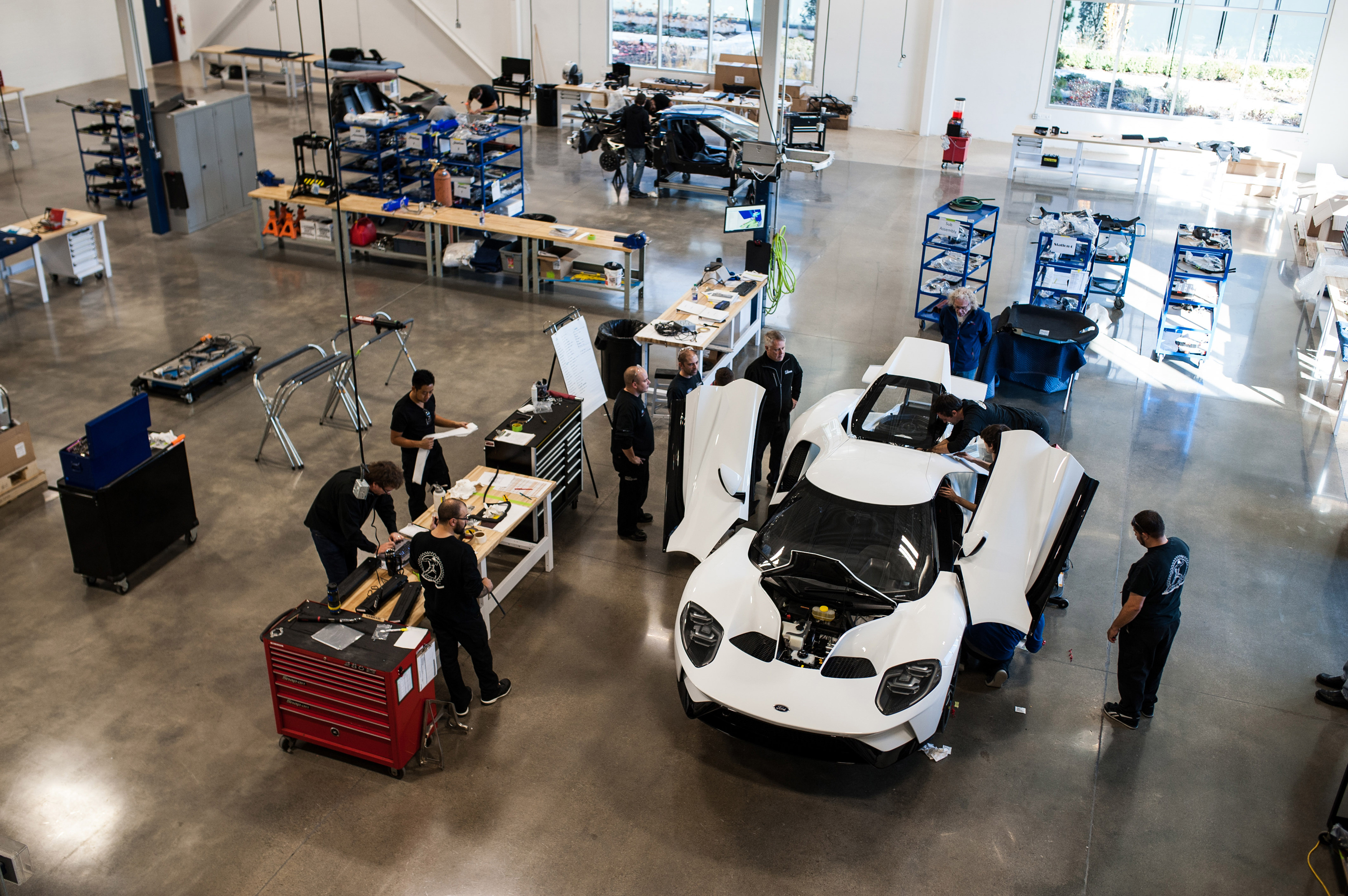 2017 Ford GT Production