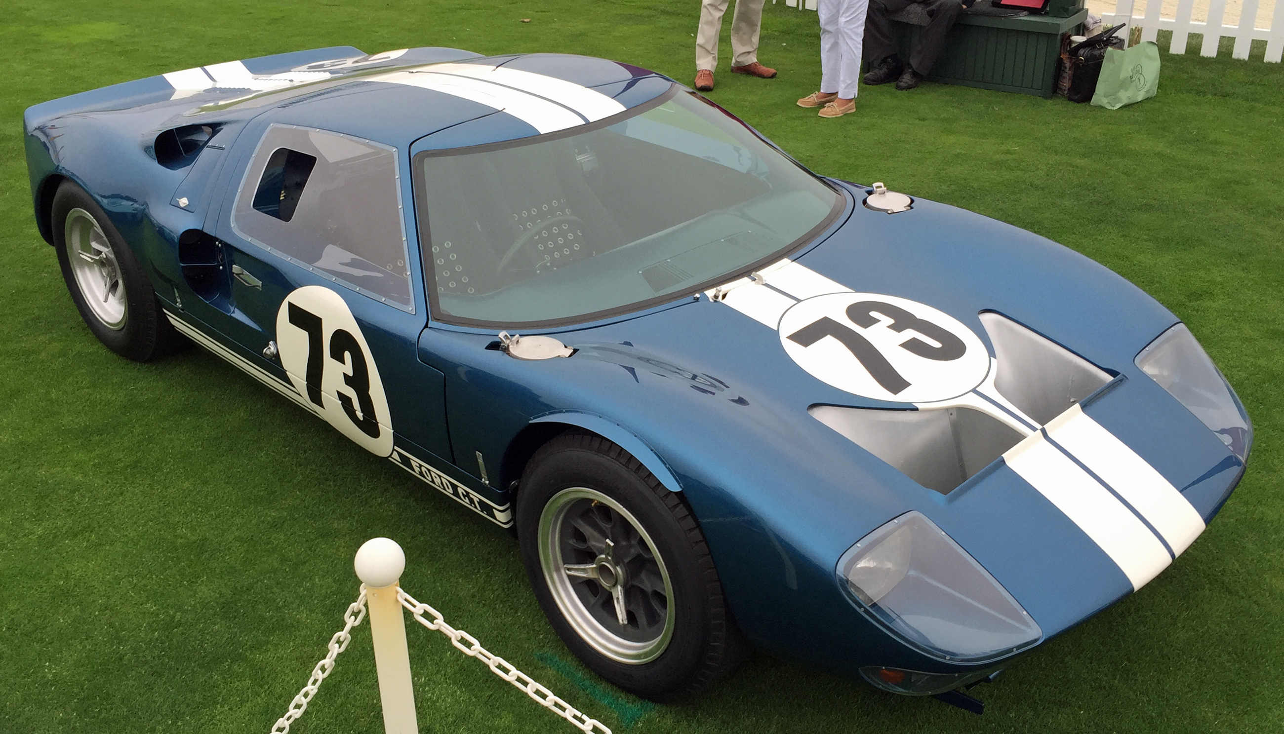 Ford GT40 Pebble Beach Blue
