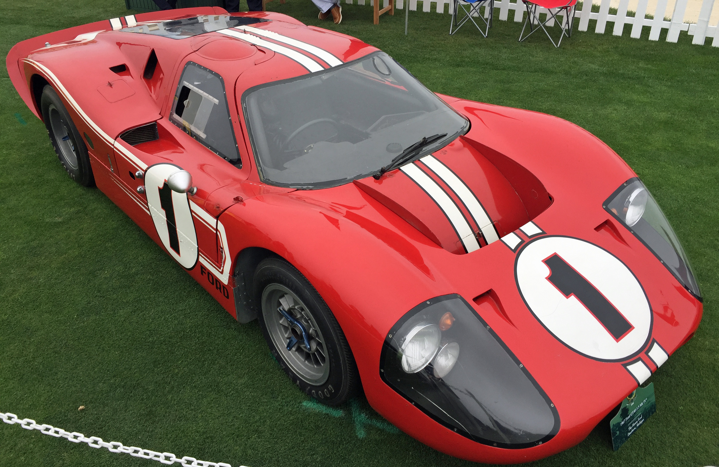Ford GT40 Pebble Beach Le Mans Winner