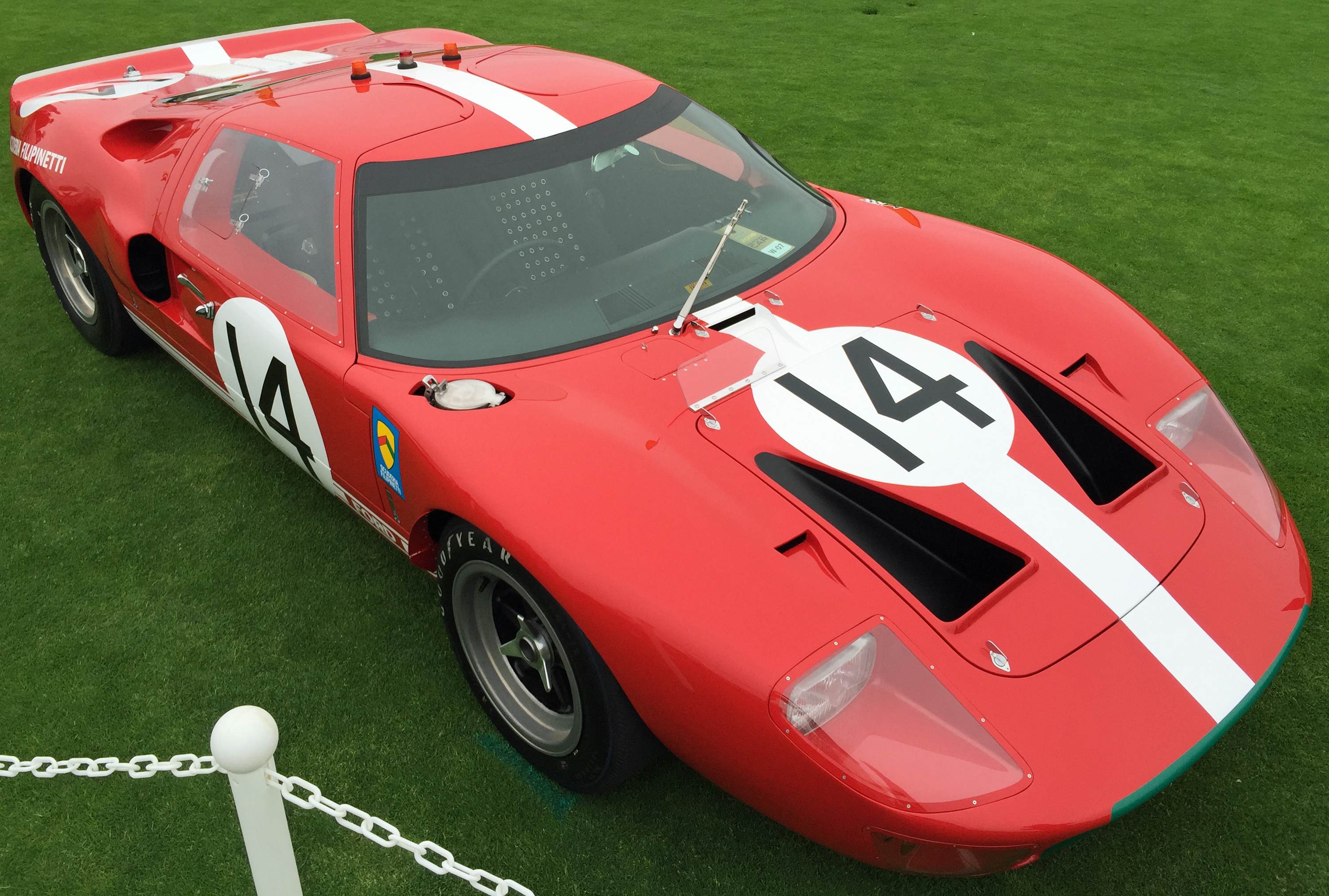 Ford GT40 Pebble Beach Red 14