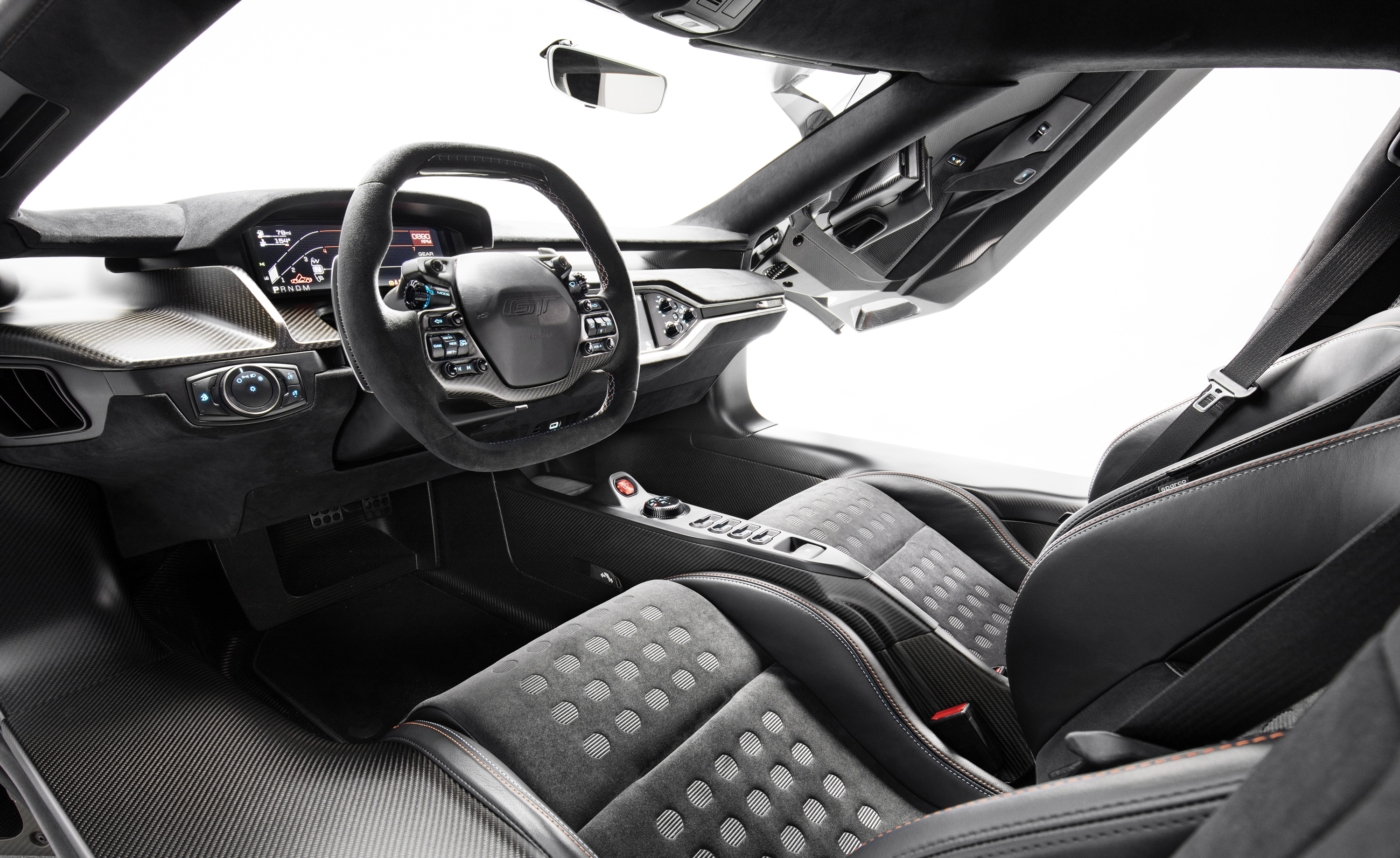 2019 Ford GT Heritage Edition Interior
