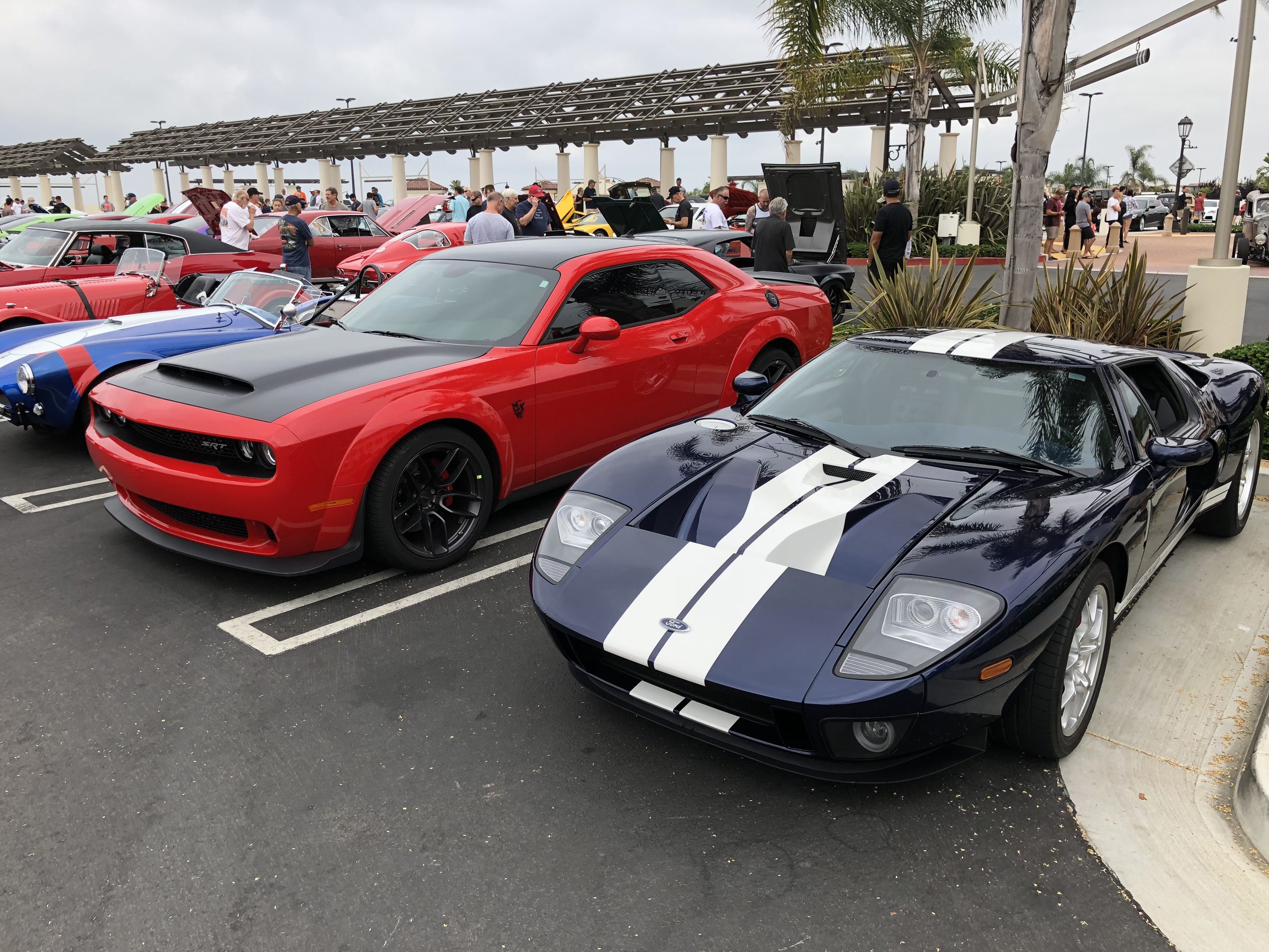 Ford GT Dodge Demon Car Show