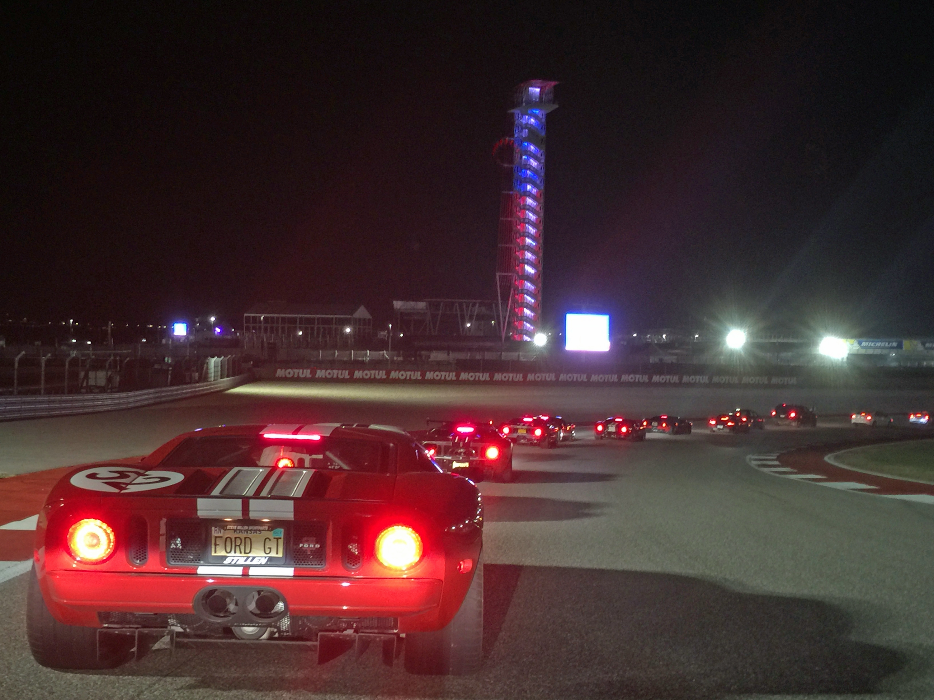 Ford GT Owners Rally 11 COTA Race Track