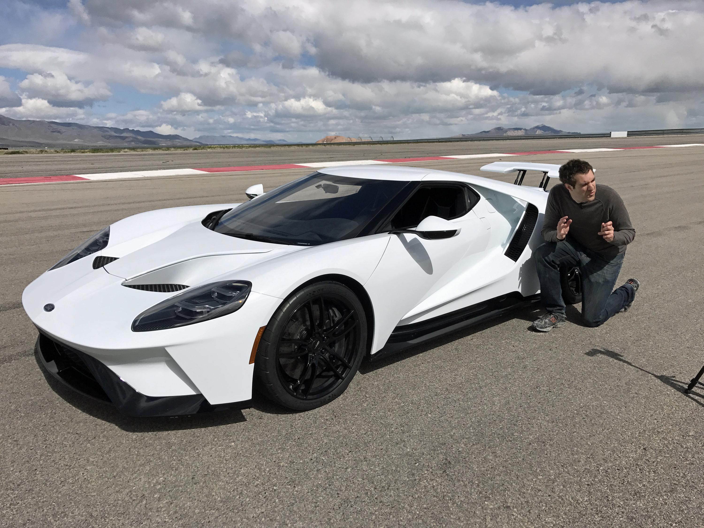 New Ford GT Press Launch Doug DeMuro