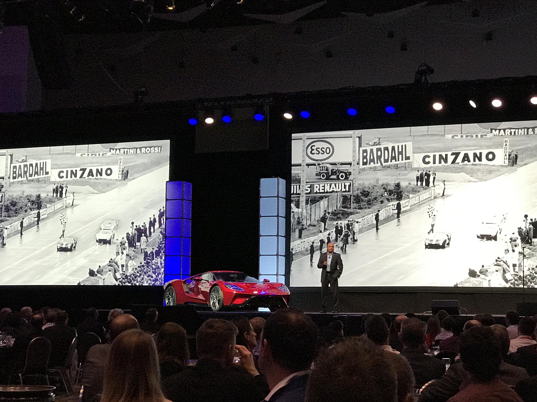New Ford GT SAE Le Mans Race Car