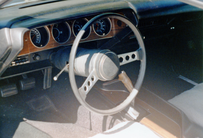 1973 Dodge Challenger Rallye Interior