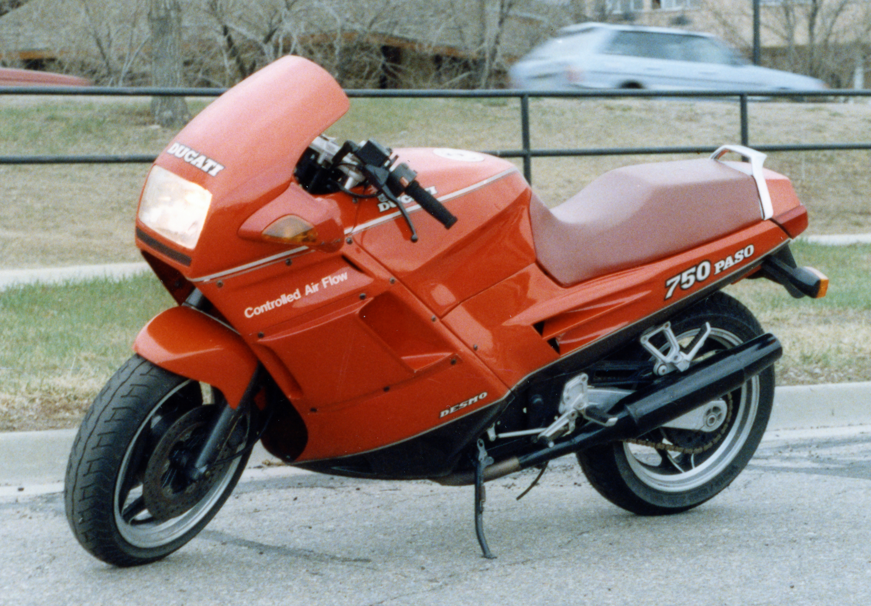 1987 Ducati Paso Profile