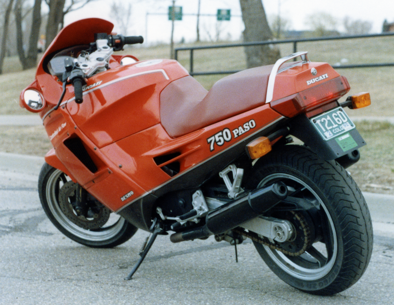 1987 Ducati Paso Rear