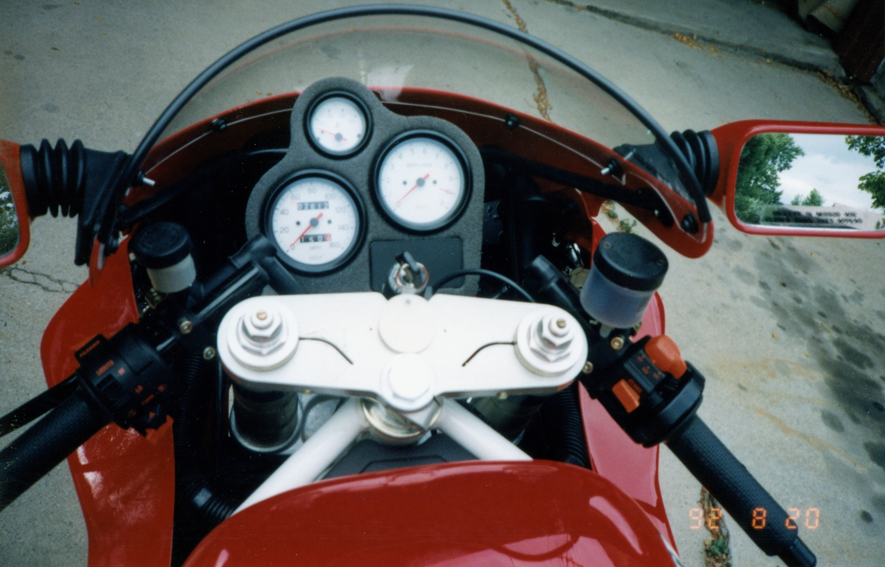 1991 Ducati 851 Superbike Gauges