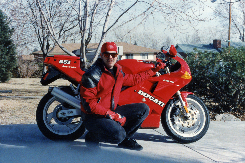 1991 Ducati 851 Superbike Karl Bandana