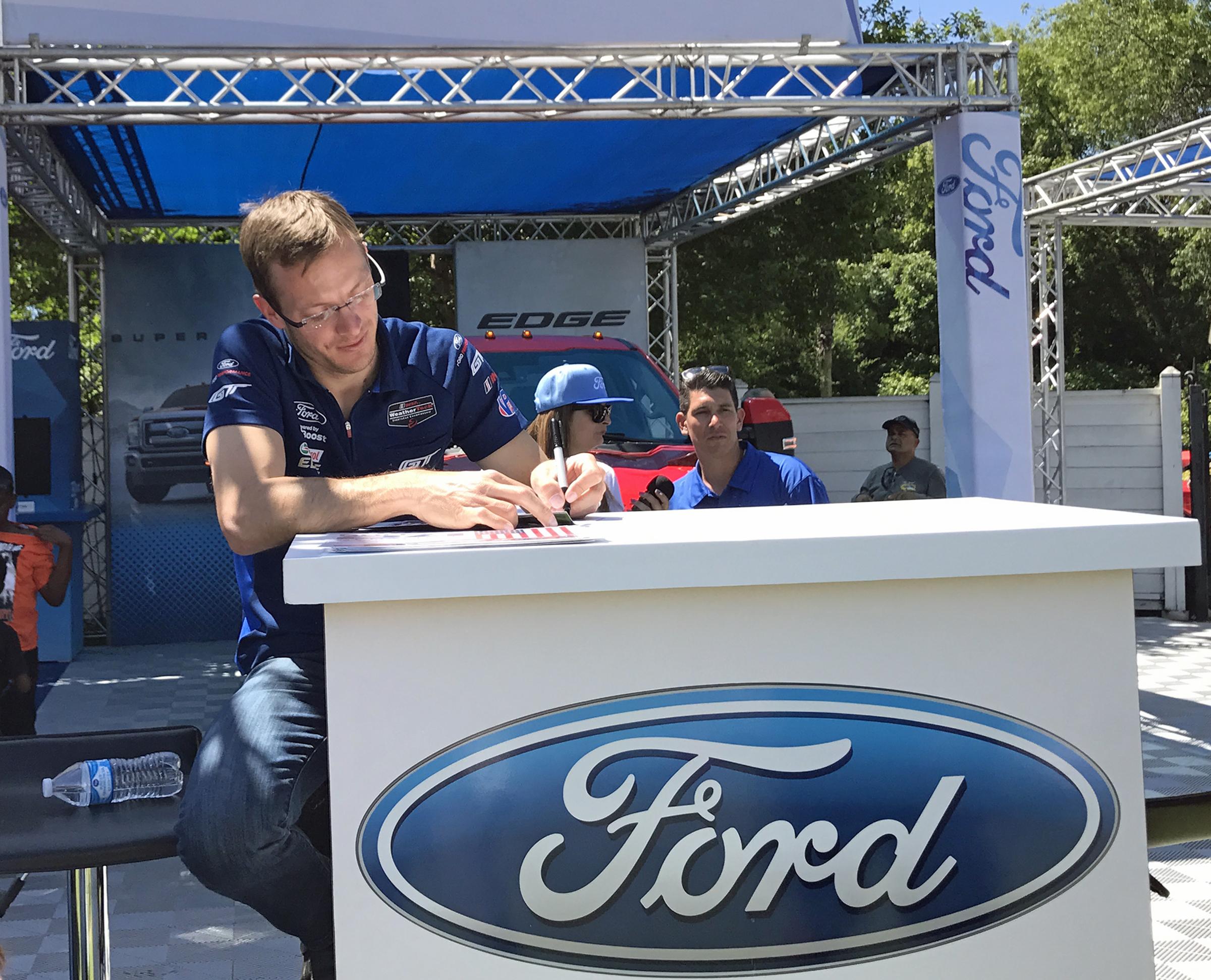 2017 Fabulous Fords Forever Sebastian Bourdais