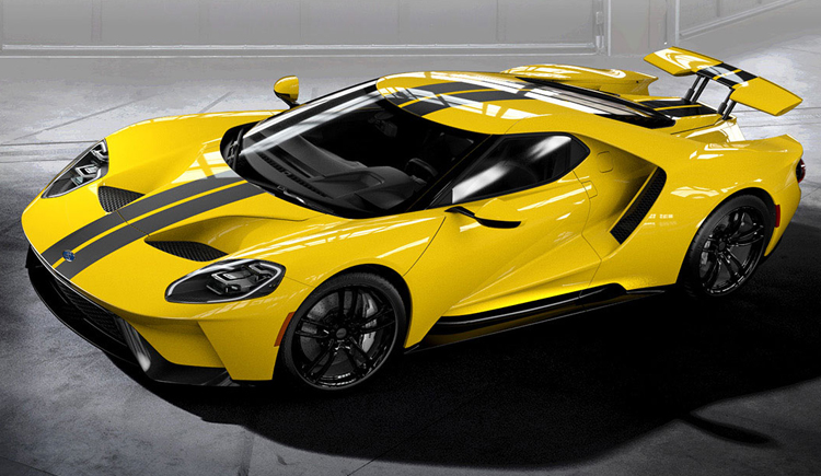 2017 Ford GT Yellow