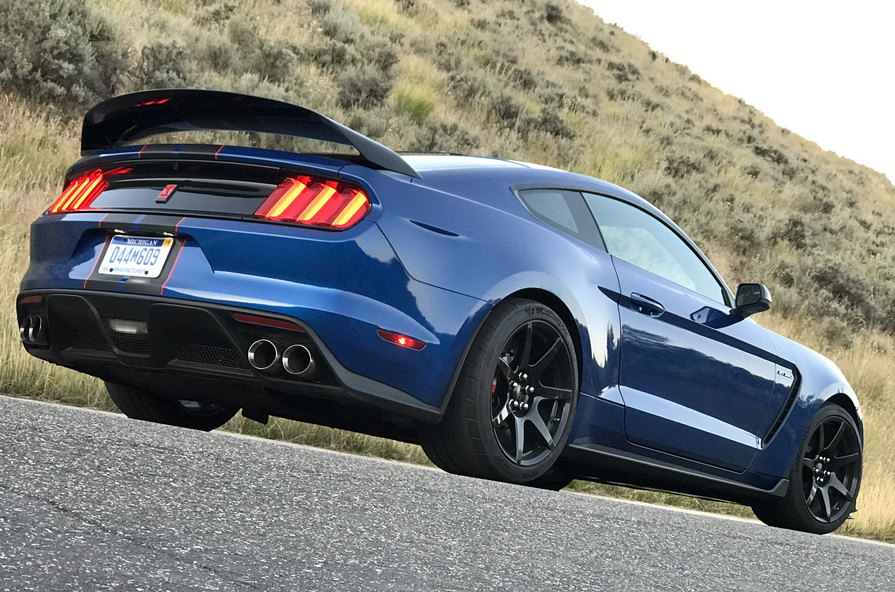 2017 Ford Mustang Shelby GT350R Rear