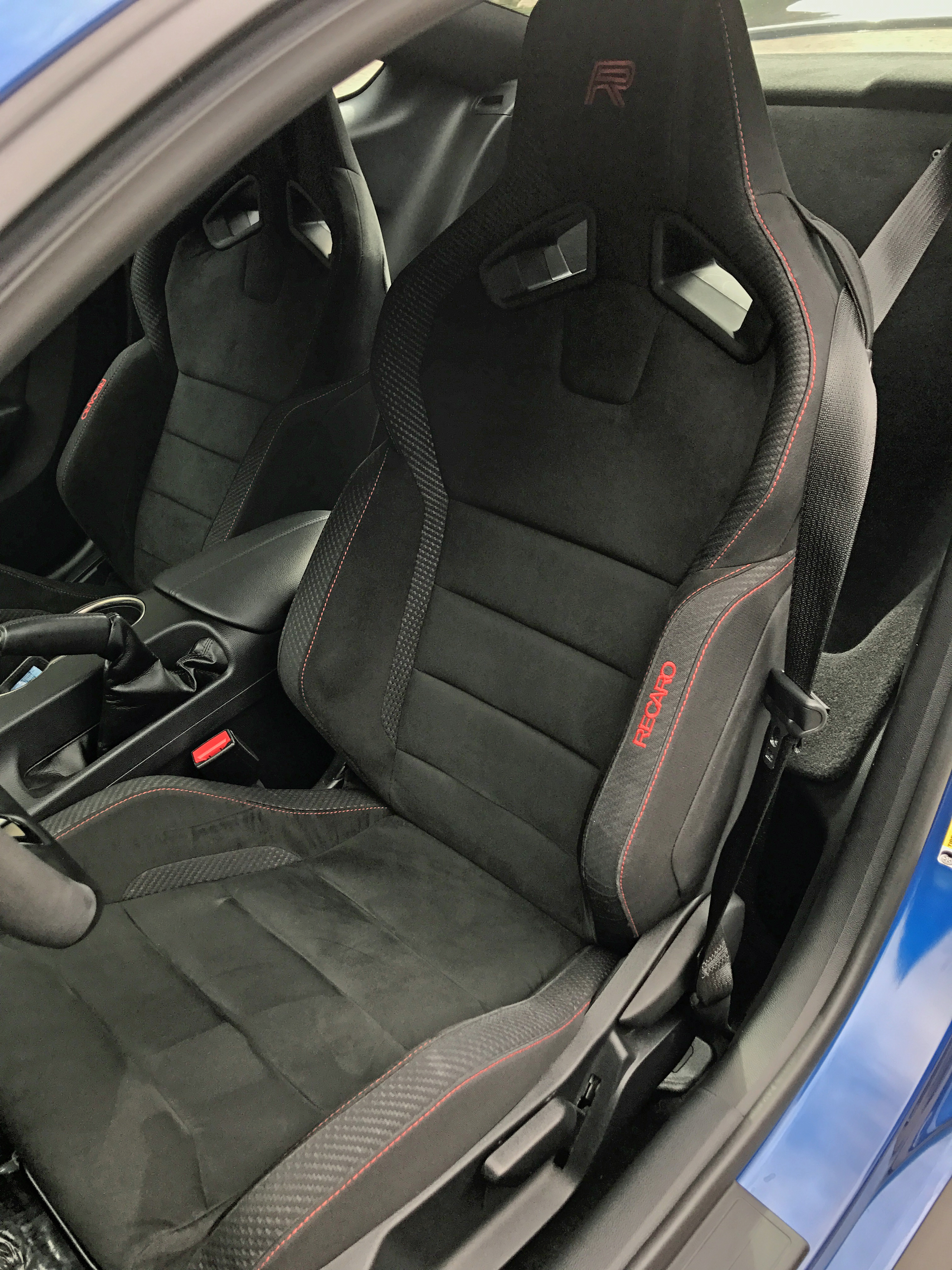 2017 Ford Mustang Shelby GT350R Seat