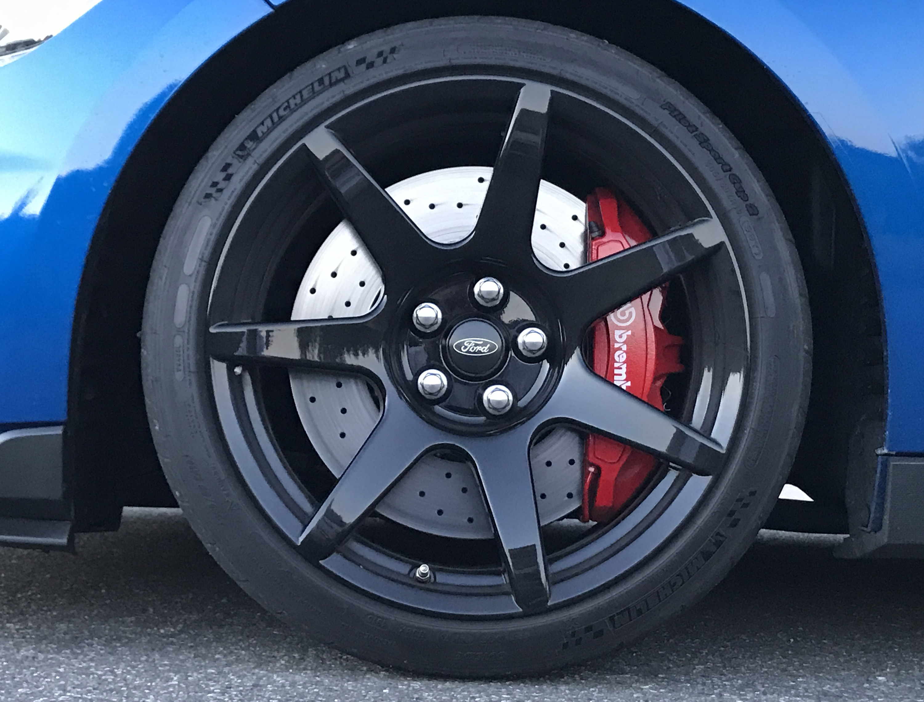 2017 Ford Mustang Shelby GT350R Wheel