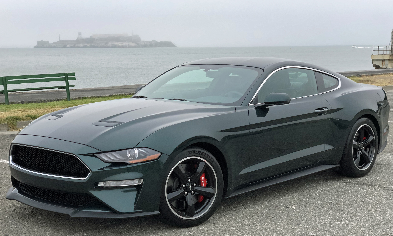 2019 Ford Mustang Bullitt Alcatraz