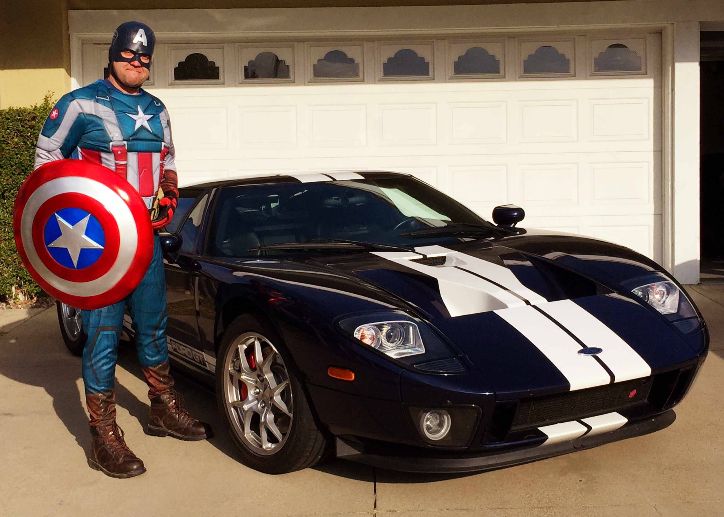 Ford GT Captain America
