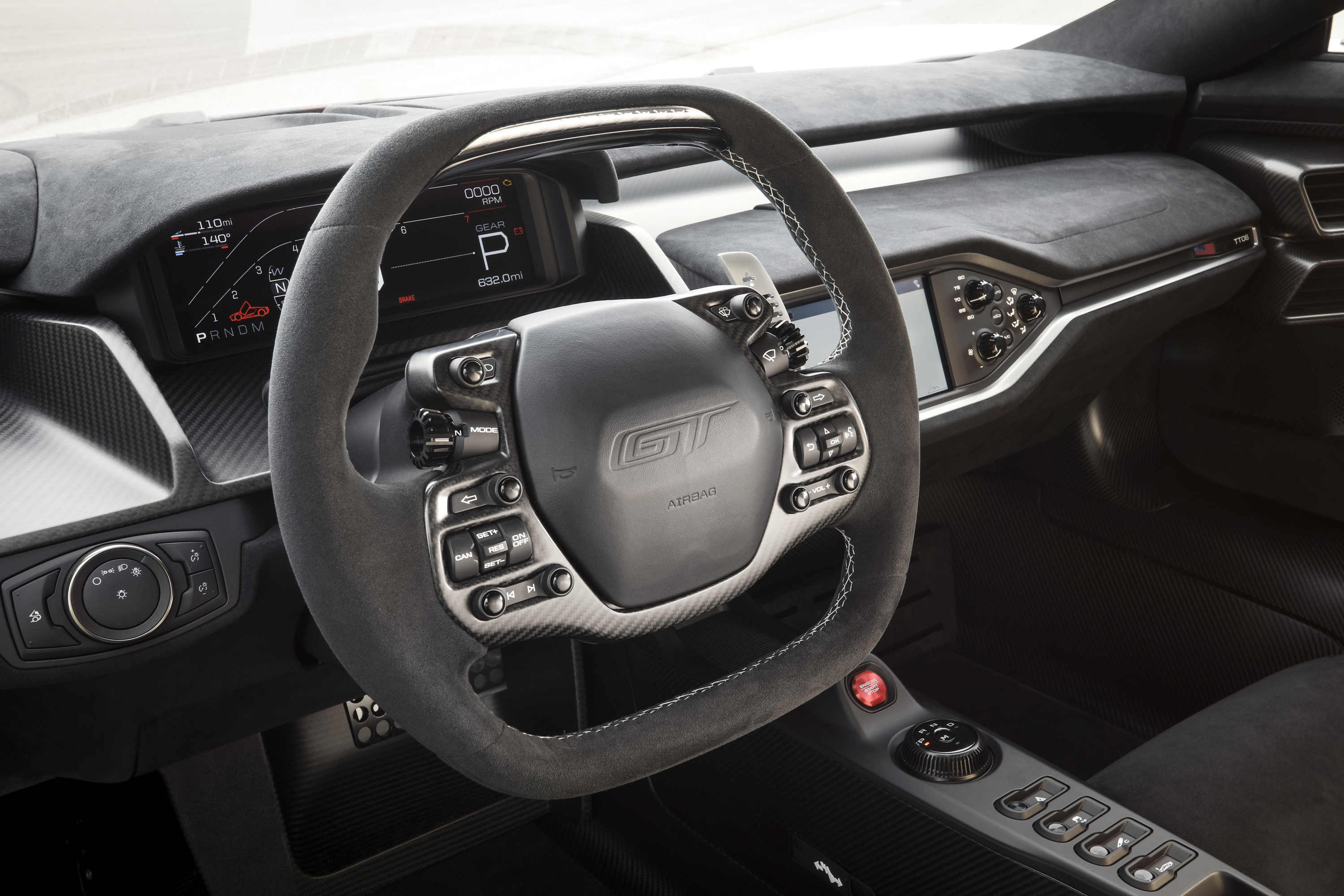 Ford GT Carbon Series Leadfoot Steering Wheel