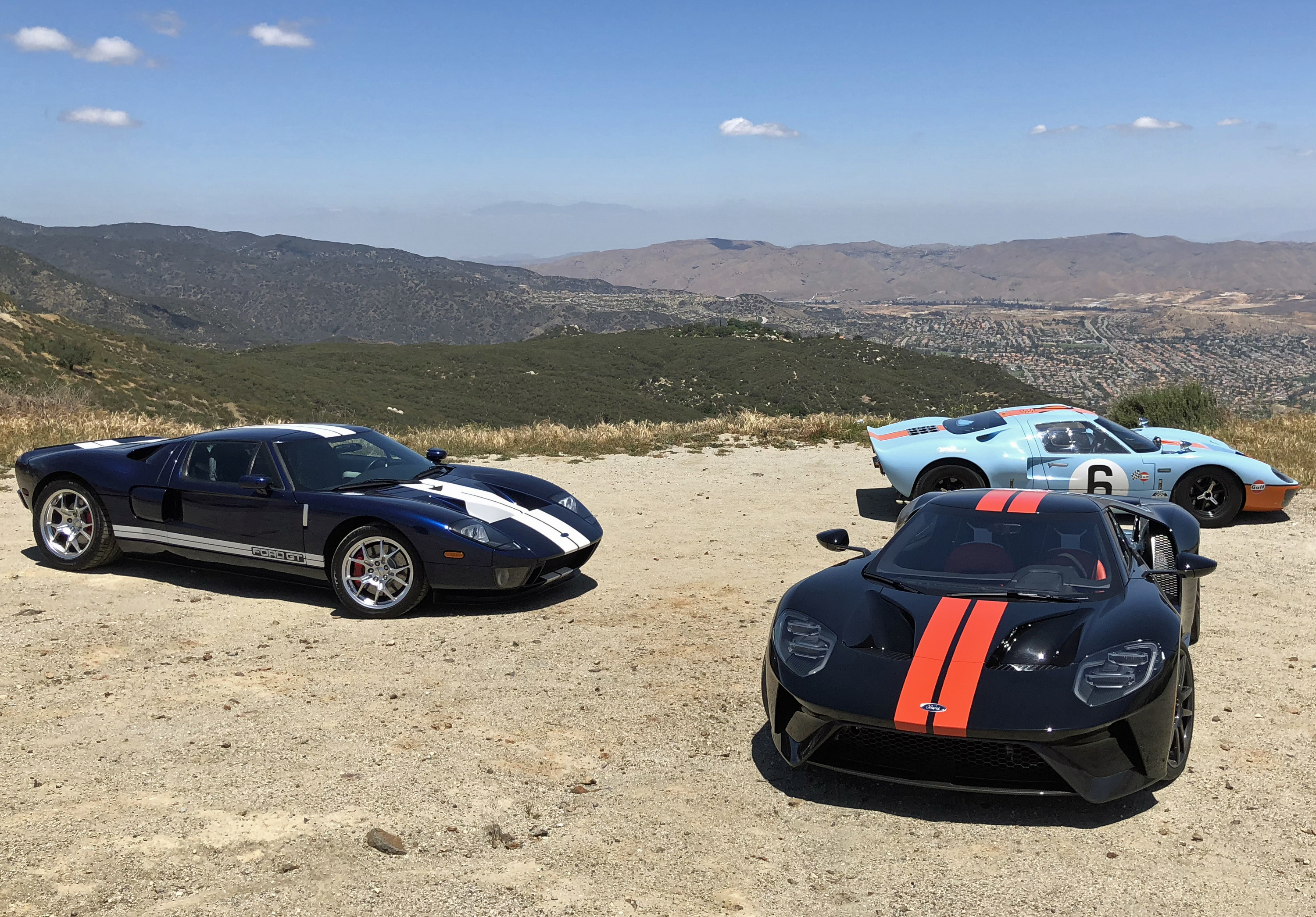 Ford GT Generations Lookout Comparison Test