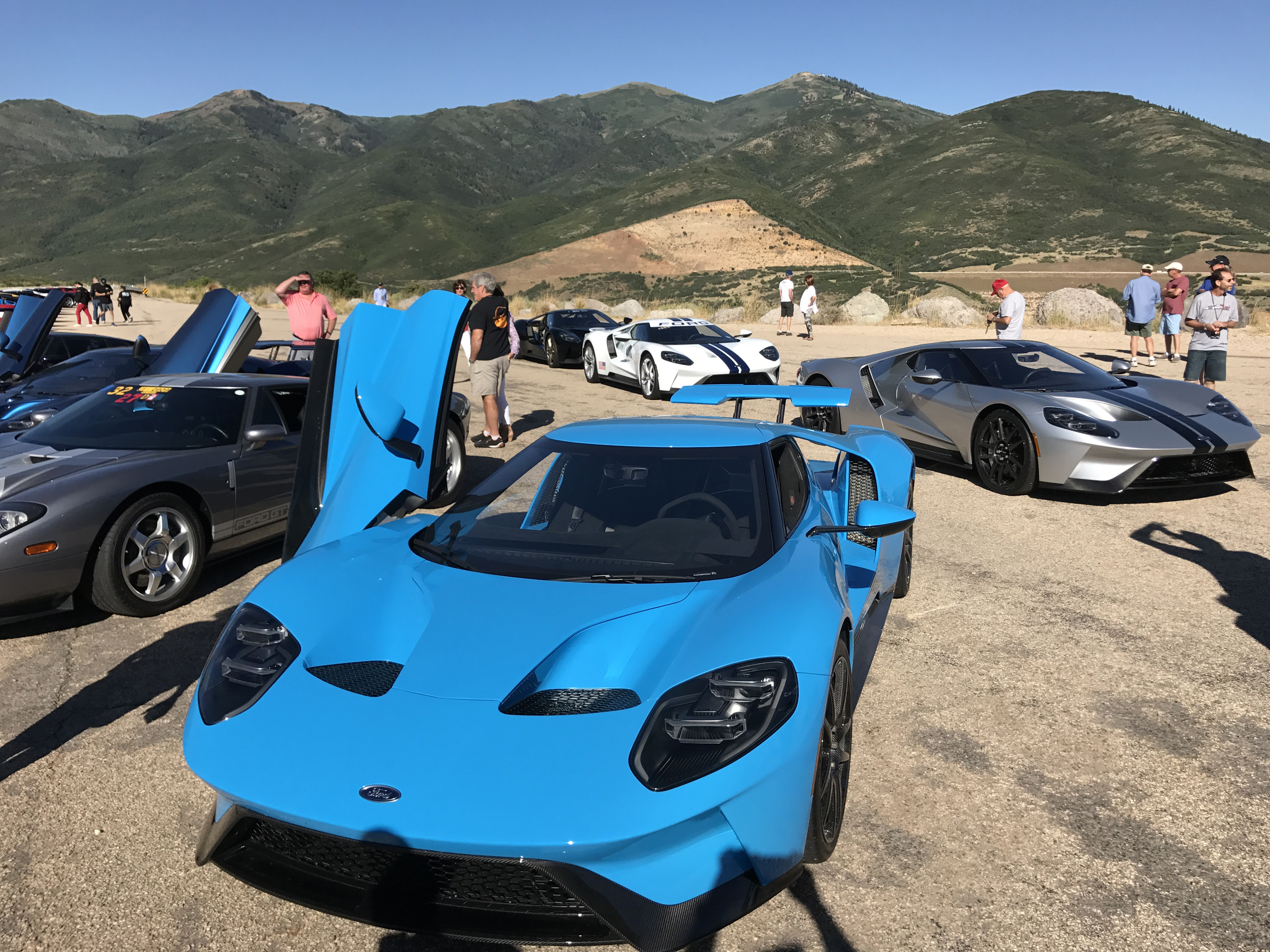 Ford GT Owners Rally 12 Parked