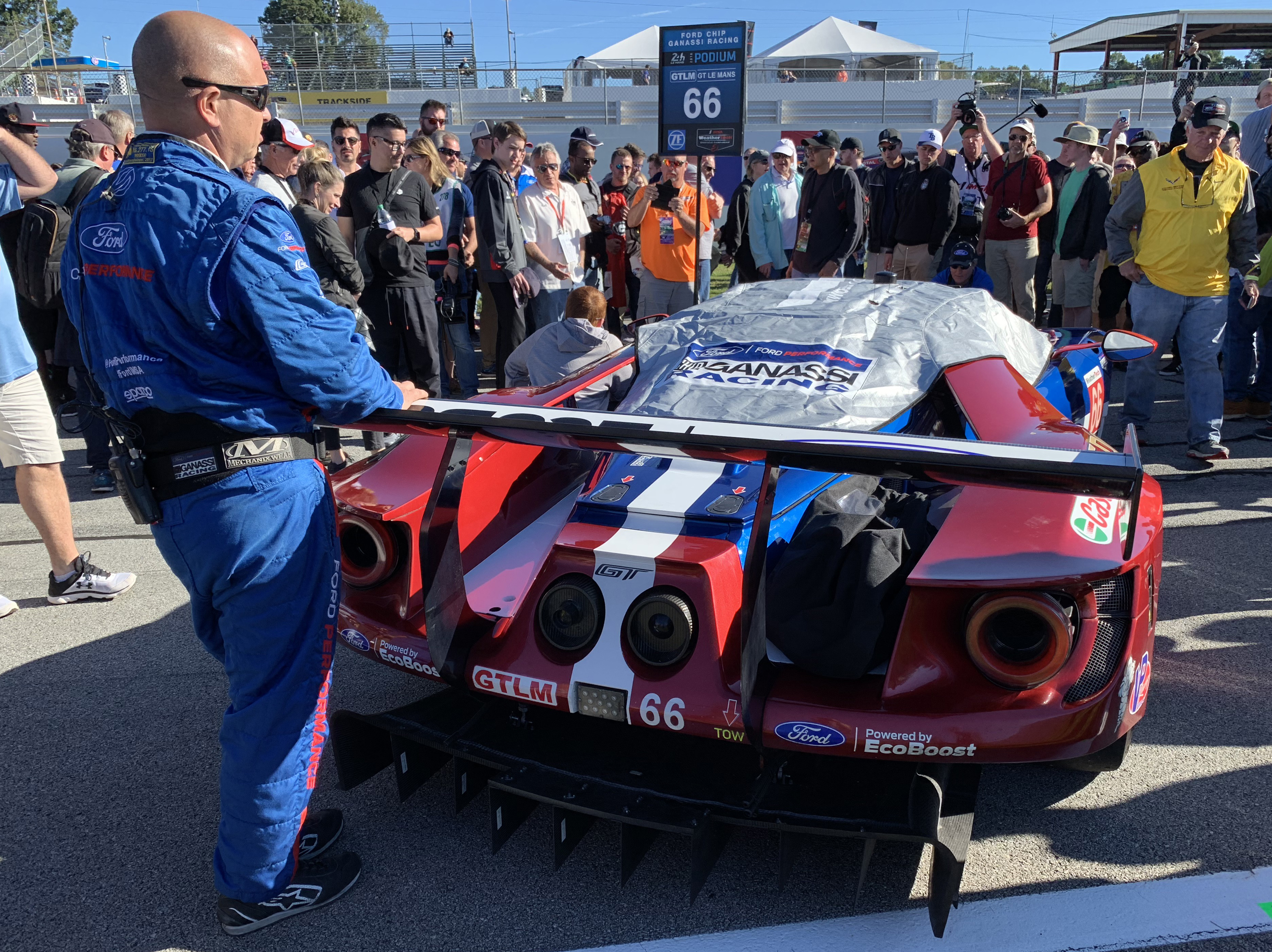 Ford GT Petit Le Mans Race Car