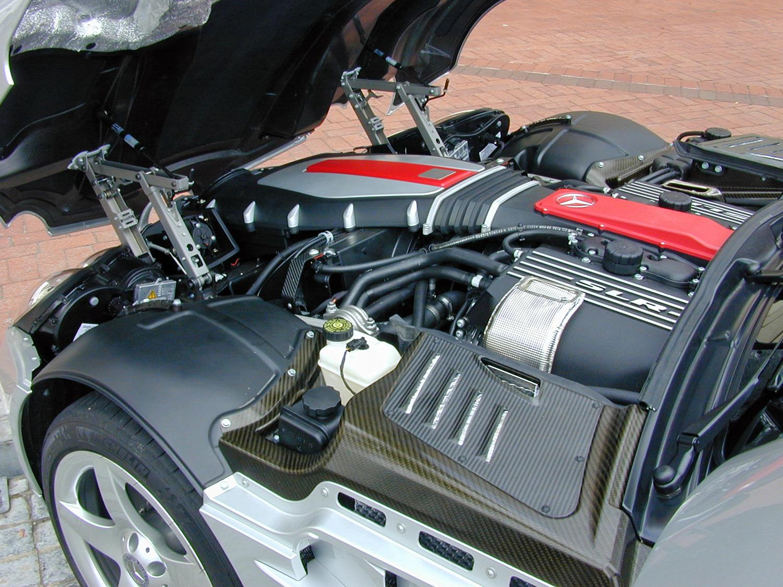 Mercedes-Benz-McLaren-SLR-Engine