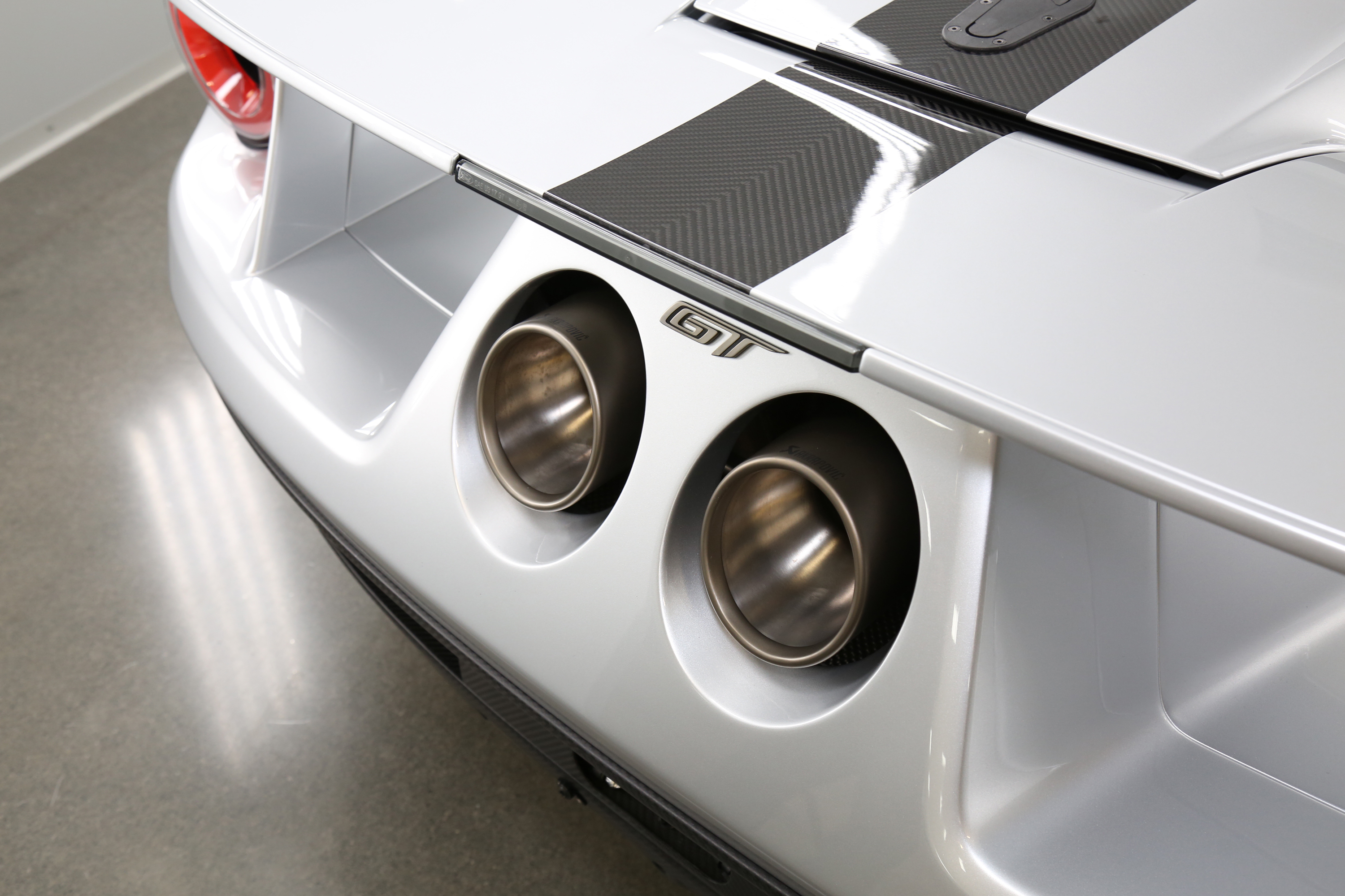 New Ford GT Competition Series Exhaust Tips