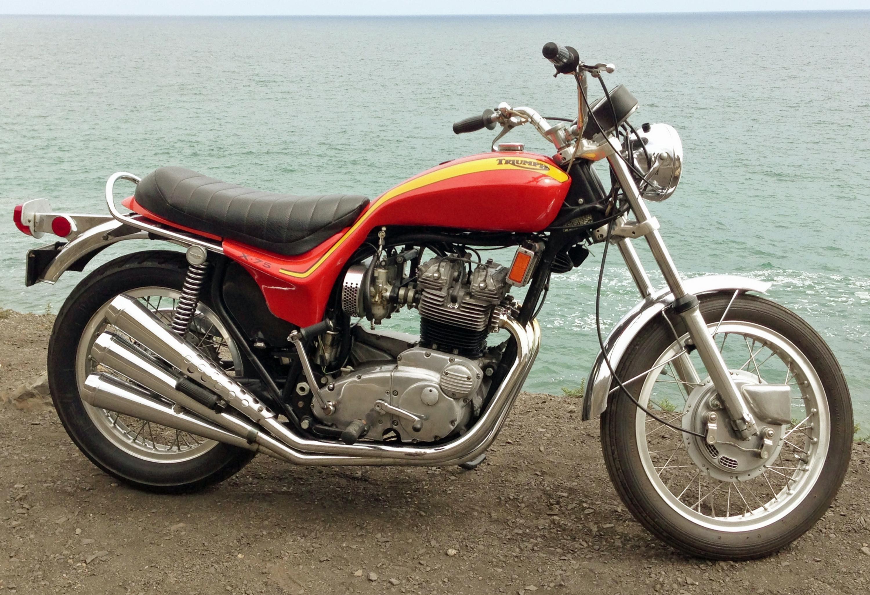 1973 Triumph Hurricane Pacific Ocean