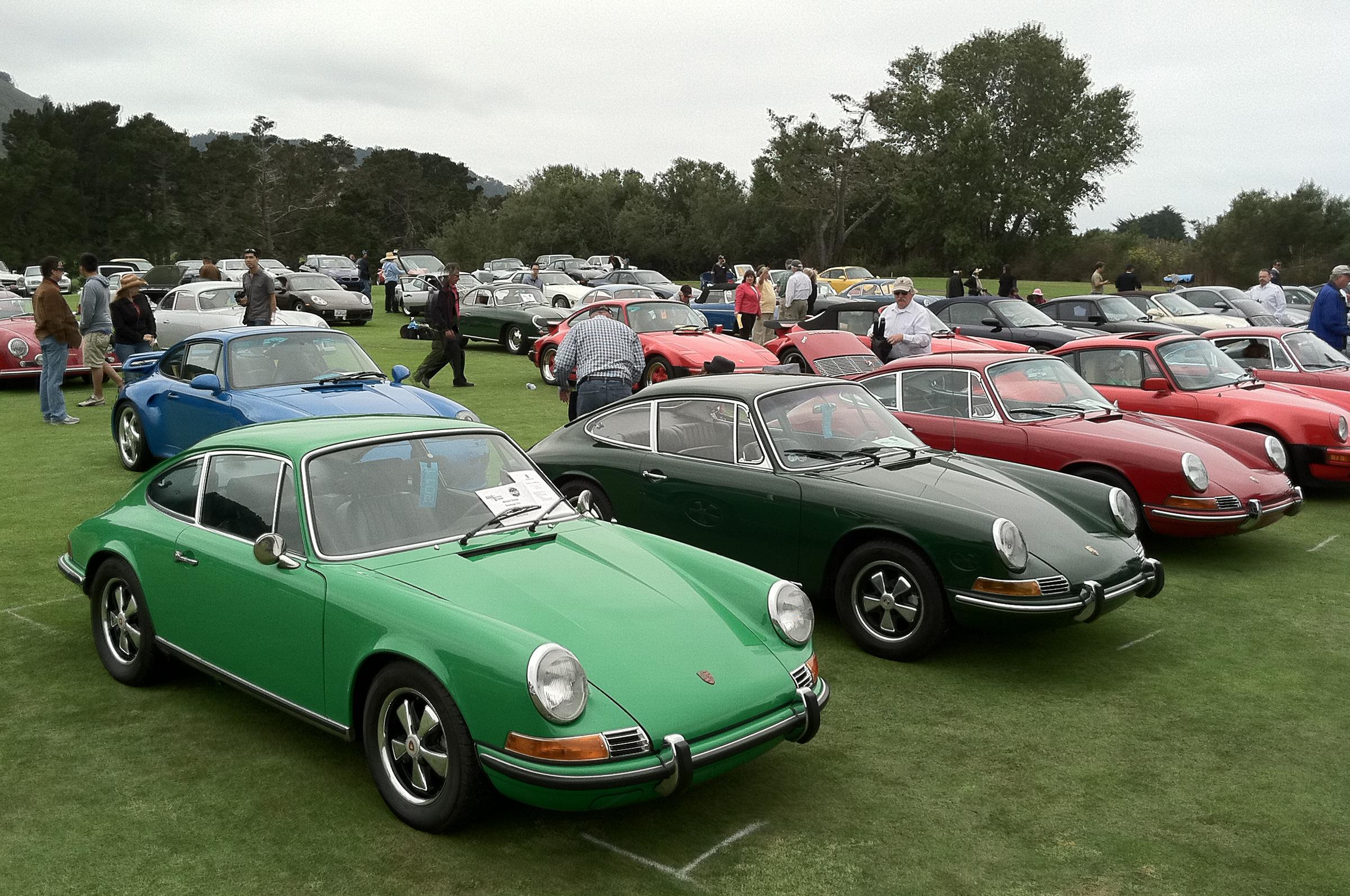 Porsche 911 Vintage Show Monterey