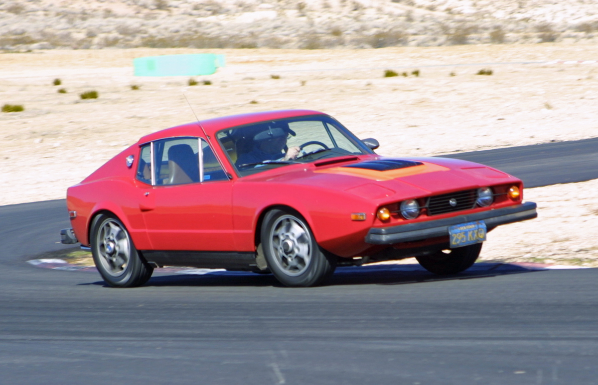 Saab Sonett Willow Springs Track
