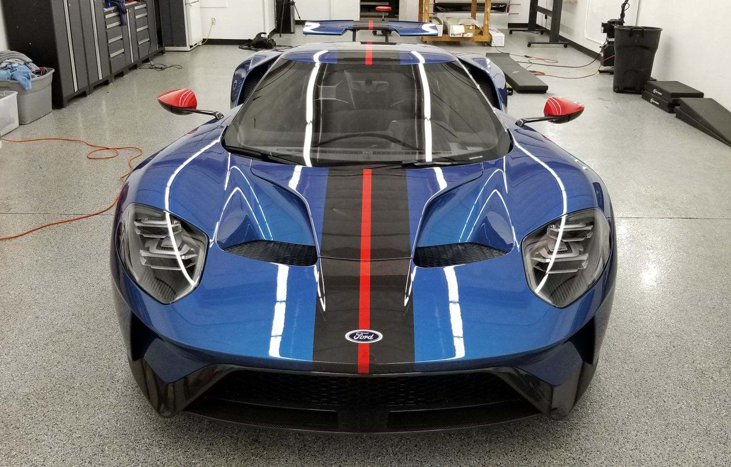 2019 Ford GT Carbon Series Front Shop
